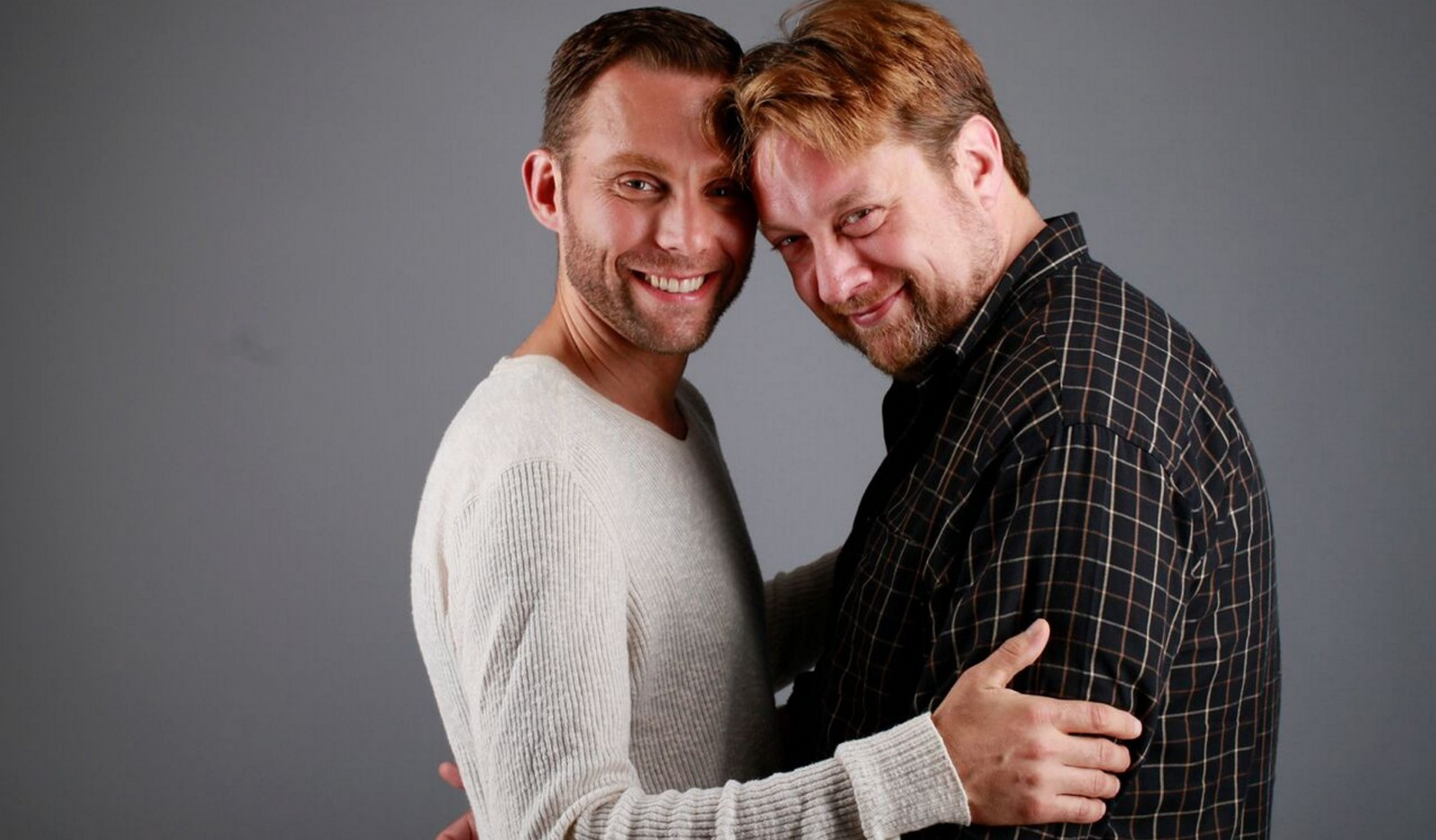 Michael Seitz and Eric Rawski create complex characters in Buffalo United Artists' production of 'Daniel's Husband.'