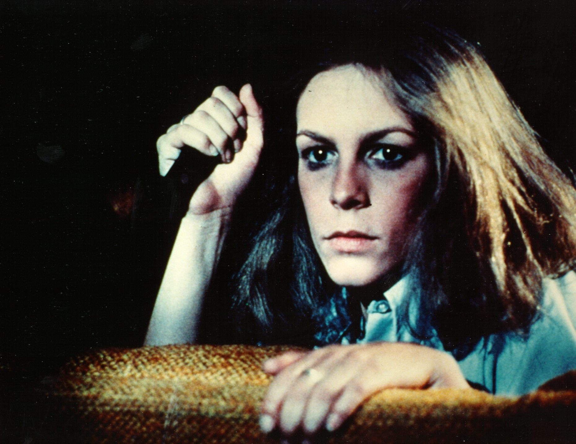 "Jamie Lee Curtis stars in the original 1978 film ""Halloween,"" which will be shown Oct. 29 at Regal Elmwood and Transit theaters."