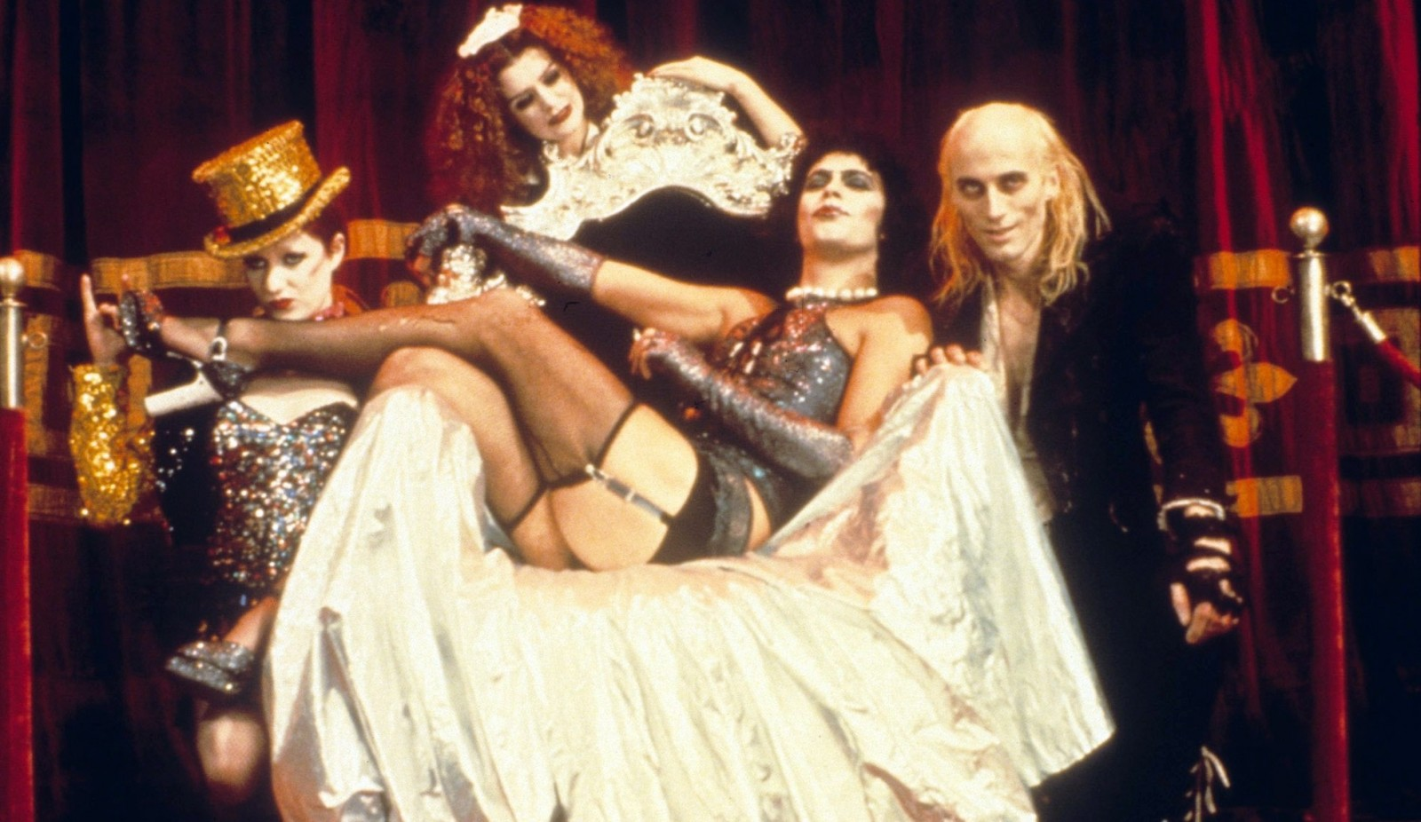 Moviegoers get in on the action at screenings of 'The Rocky Horror Picture Show,' which has multiple area showings.