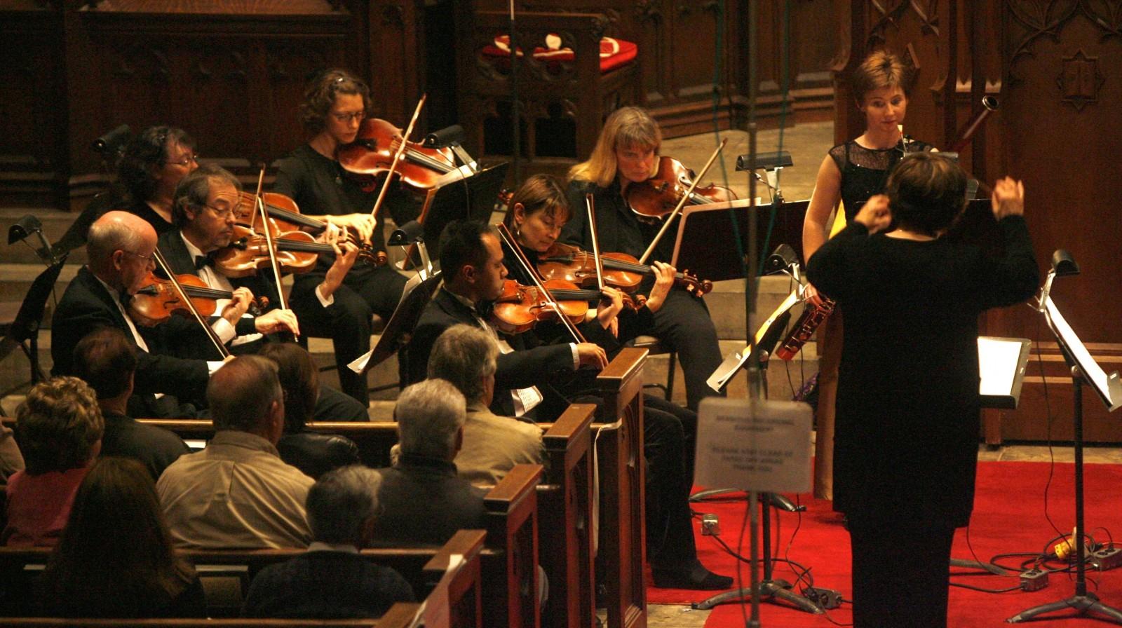 The 37th season of Viva Vivaldi concerts, led by Maryloise Nanna, begins Nov. 1. (Robert Kirkham/Buffalo News file photo)