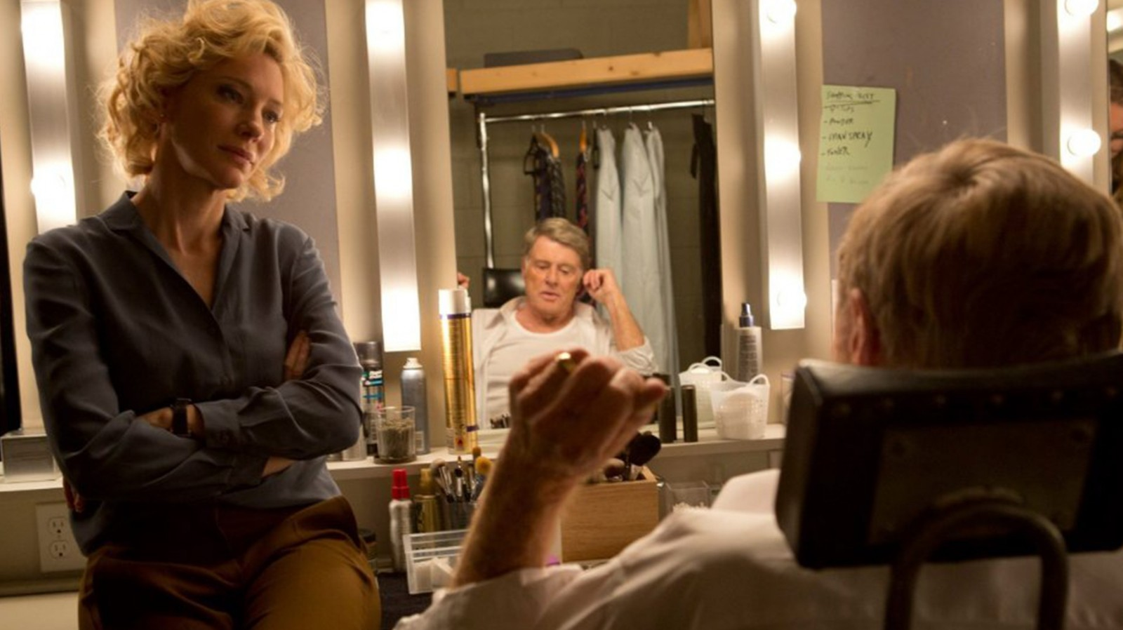 Cate Blanchett and Robert Redford star in 'Truth.'