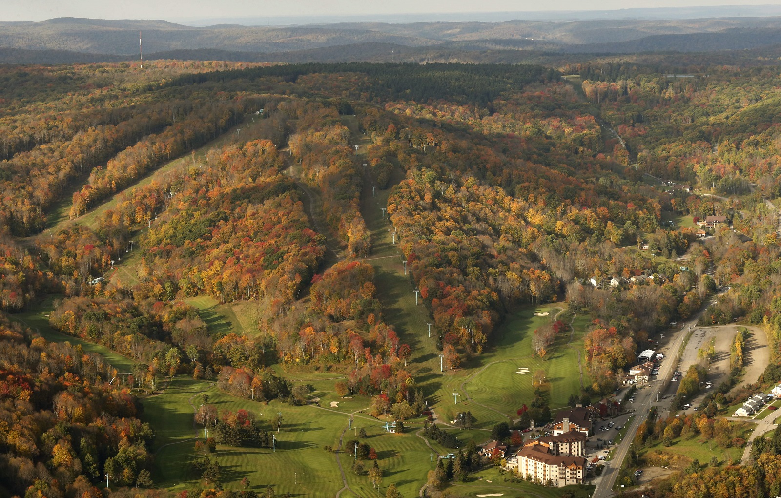 The breathtaking view of Ellicottville during the fall. Taken in 2014. (Derek Gee/Buffalo News file photo)