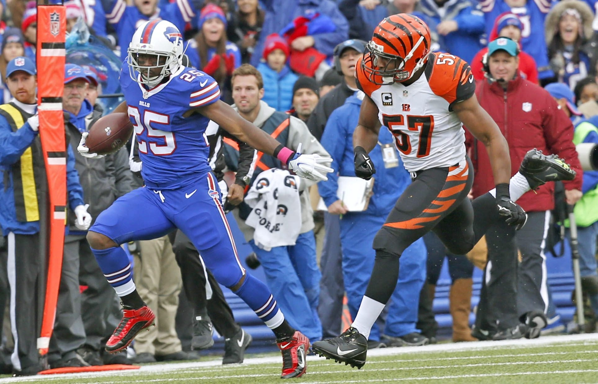 LeSean McCoy has occasionally shown he's the player the Bills made the blockbuster offseason trade for, but injuries have slowed him down.