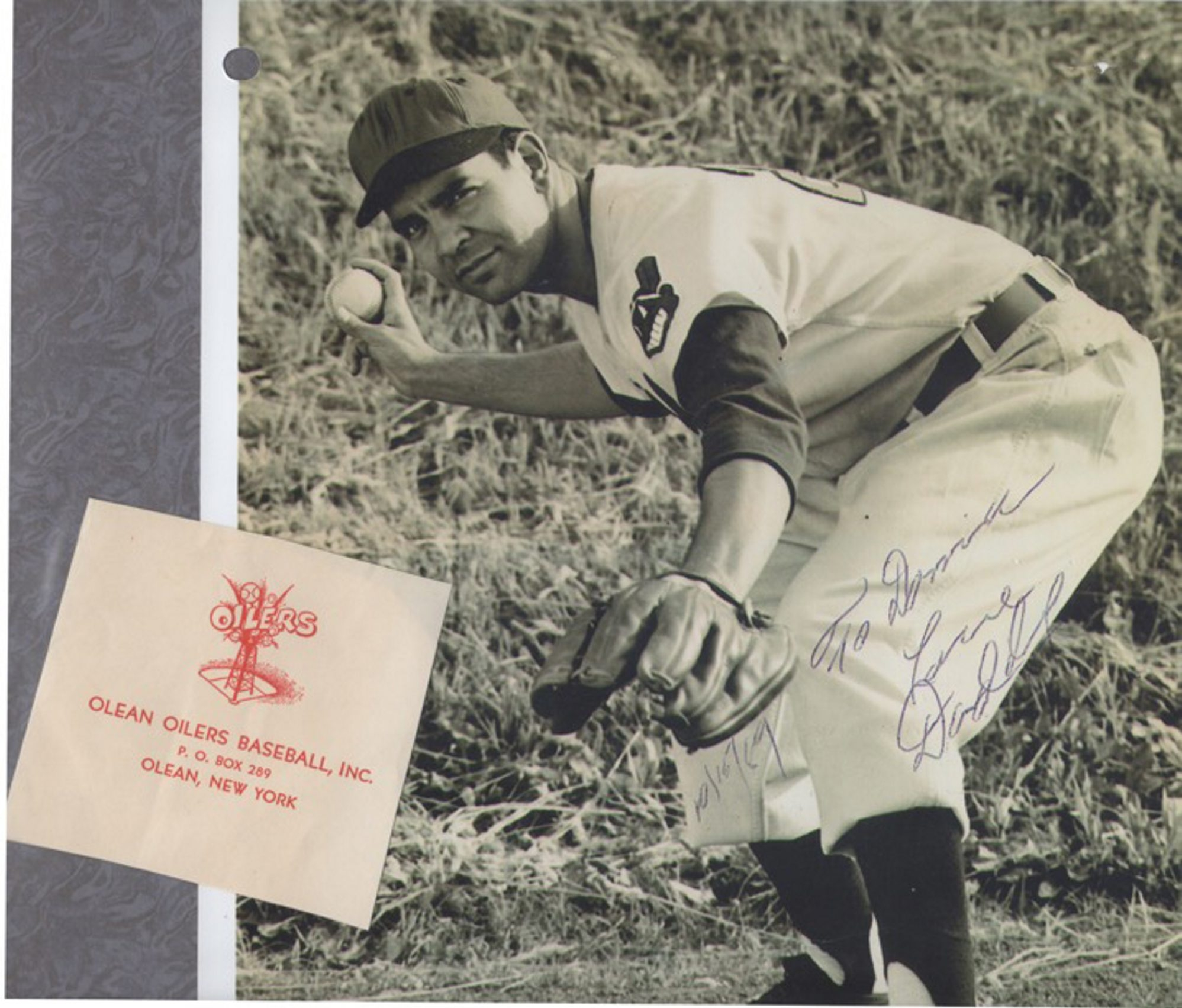 After a standout career in minor-league baseball, George Daddario worked in promotions and marketing for the Buffalo Bisons and NBA Braves. Daddario died in 2007.