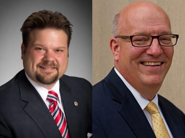 Damon Piatek, left, and Joseph Emminger vying for post of Tonawanda supervisor to succeed Anthony Caruana.