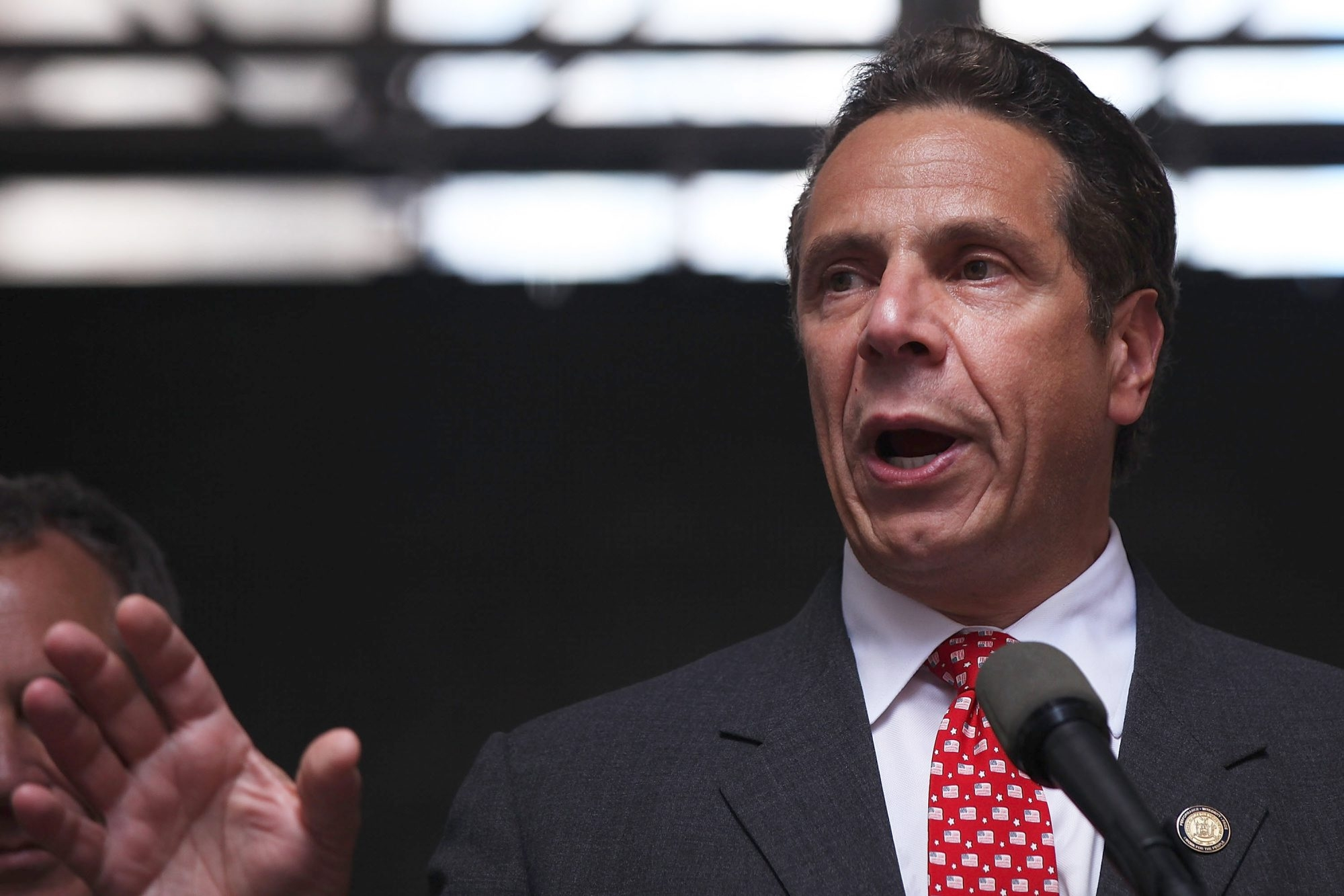 "Gov. Andrew M. Cuomo said he was canceling the Friday and Saturday night fundraisers because of an ""overwhelming demand for tickets"" to the games. (Getty Images file photo)"