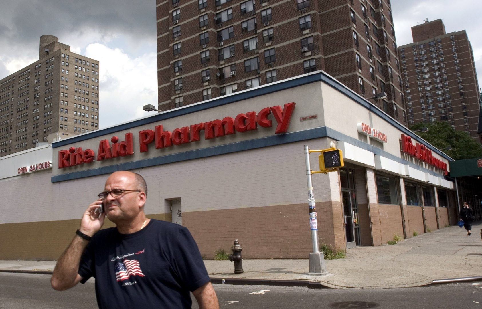 Rite Aid drugstore chain, including this location in Manhattan, has been experiencing steep losses in recent years, and its acquisition by Walgreens intensifies competition with industry giant CVS Health.