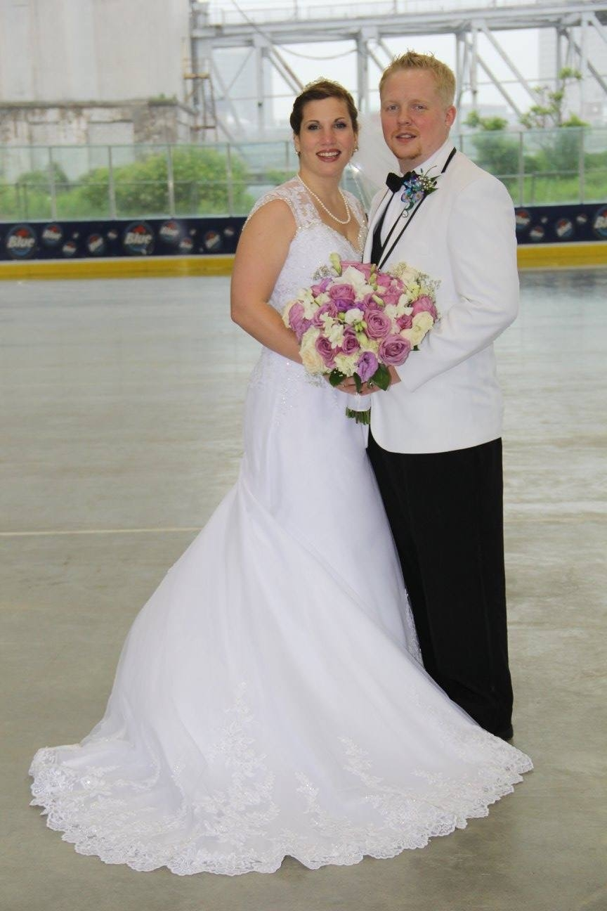 Michelle L. Spencer and Christopher J. Trala are wed in Elma
