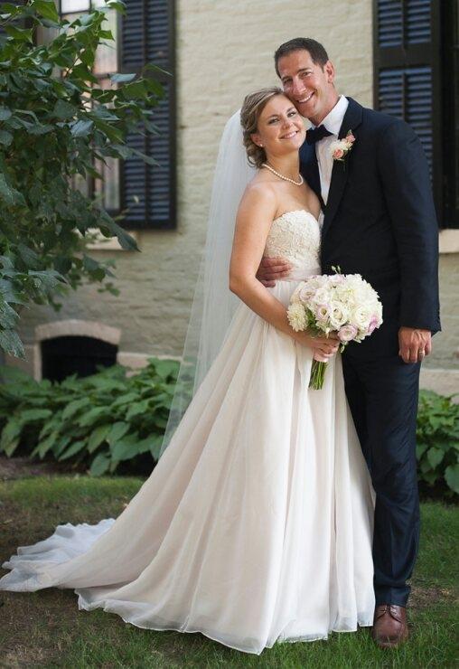 Elizabeth Hock and Clayton Moden are wed in Eden
