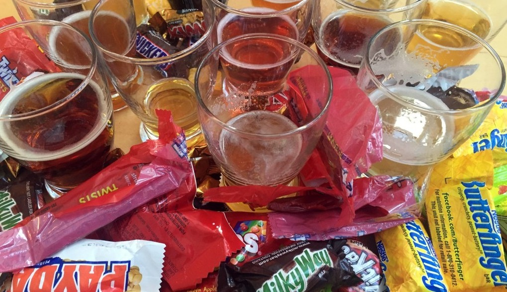 Resurgence Brewing Co. is having a Halloween candy pairing with its beer. (Resurgence Brewing Co.)