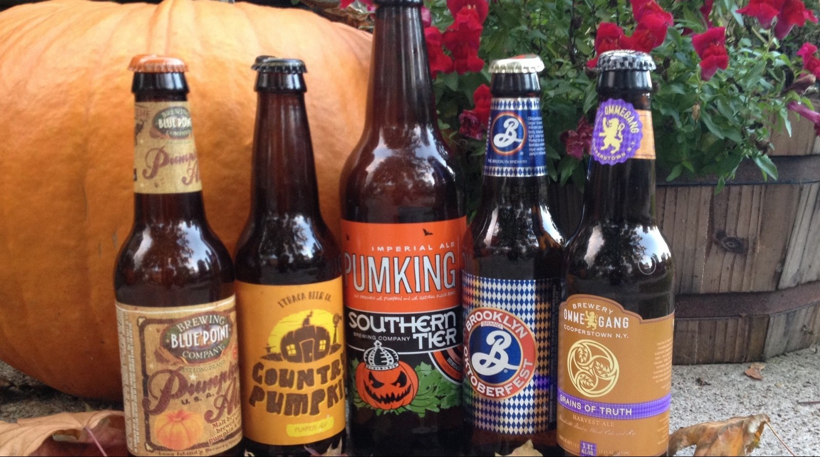 Reaching across New York for five fall beers