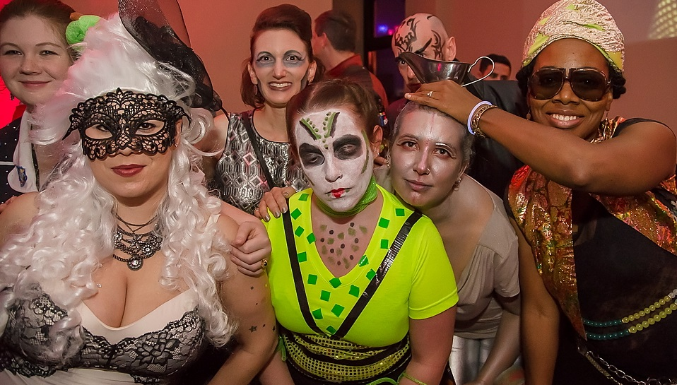 Prom of the Dead returns to the Ukrainian Center for another year of creepy costumes and dancing. (Don Nieman/Special to The News)