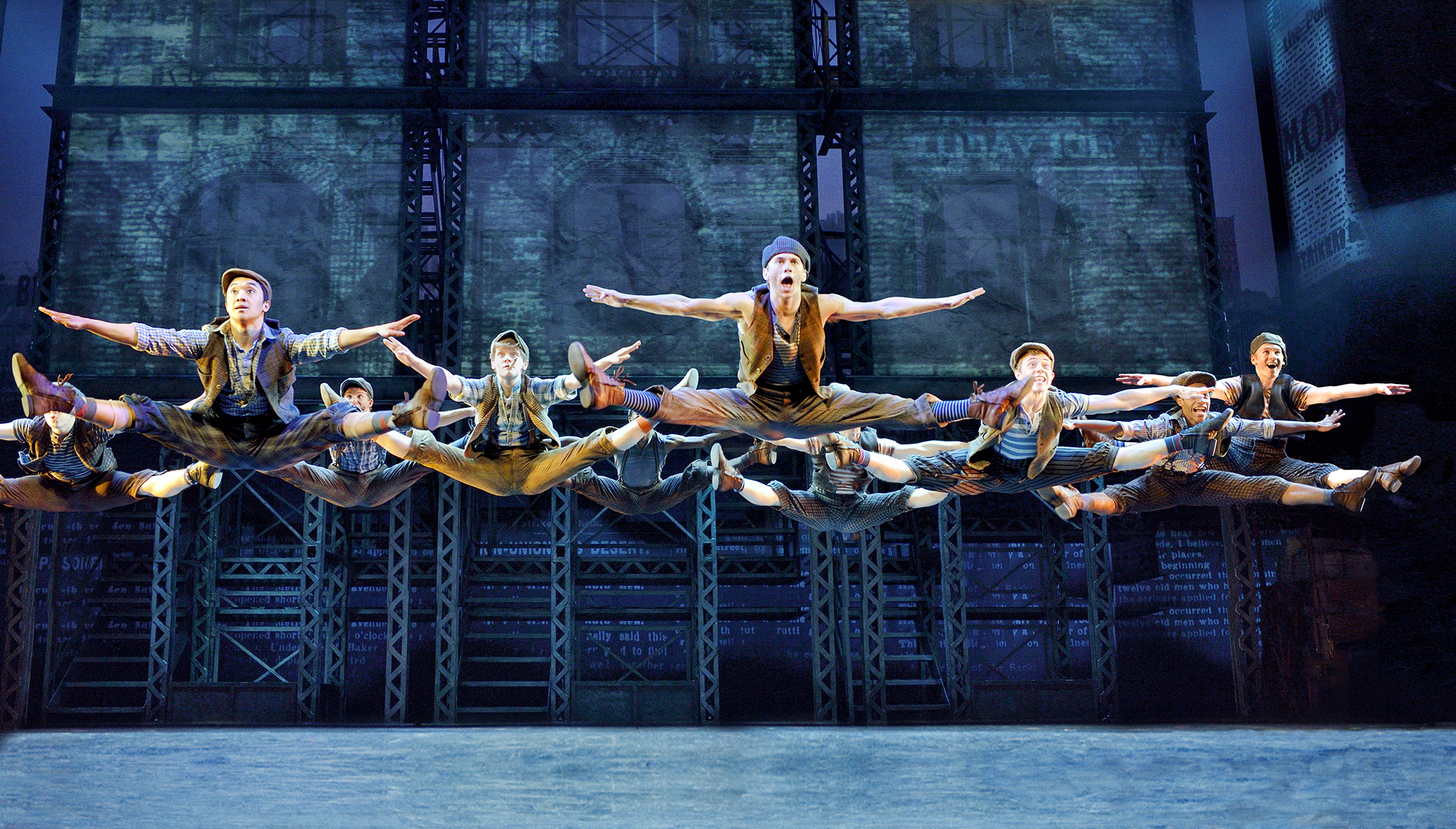 """Newsies"" runs through Sunday in Shea's Performing Arts Center."