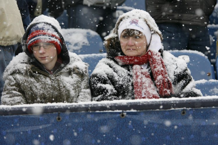 Even Buffalo's reputation for cold weather has been no match for Tom Brady & Co. (News file photo)