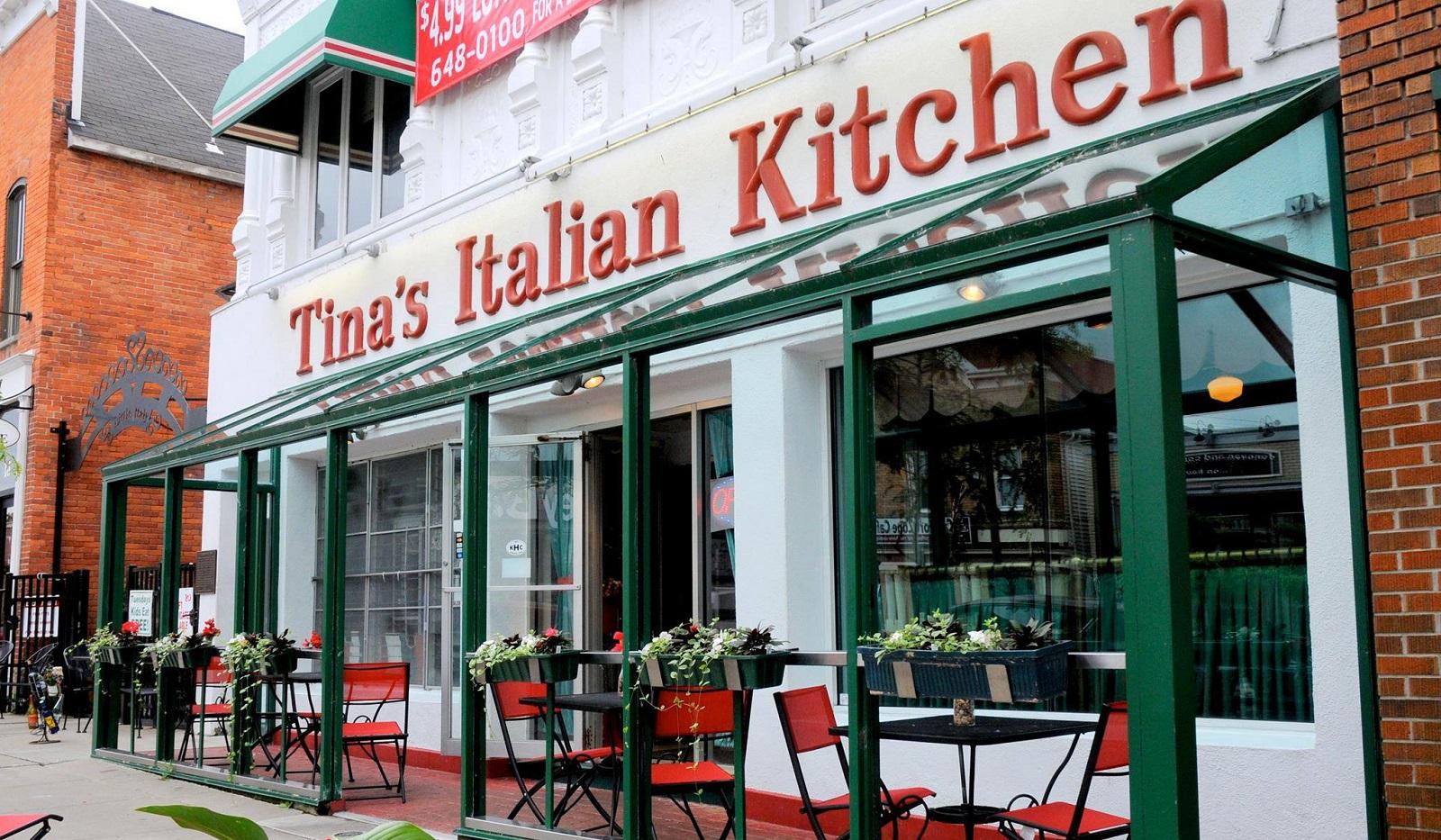 Tina's Italian Kitchen has announced its closing date. (via Tina's Italian Kitchen's Facebook page)