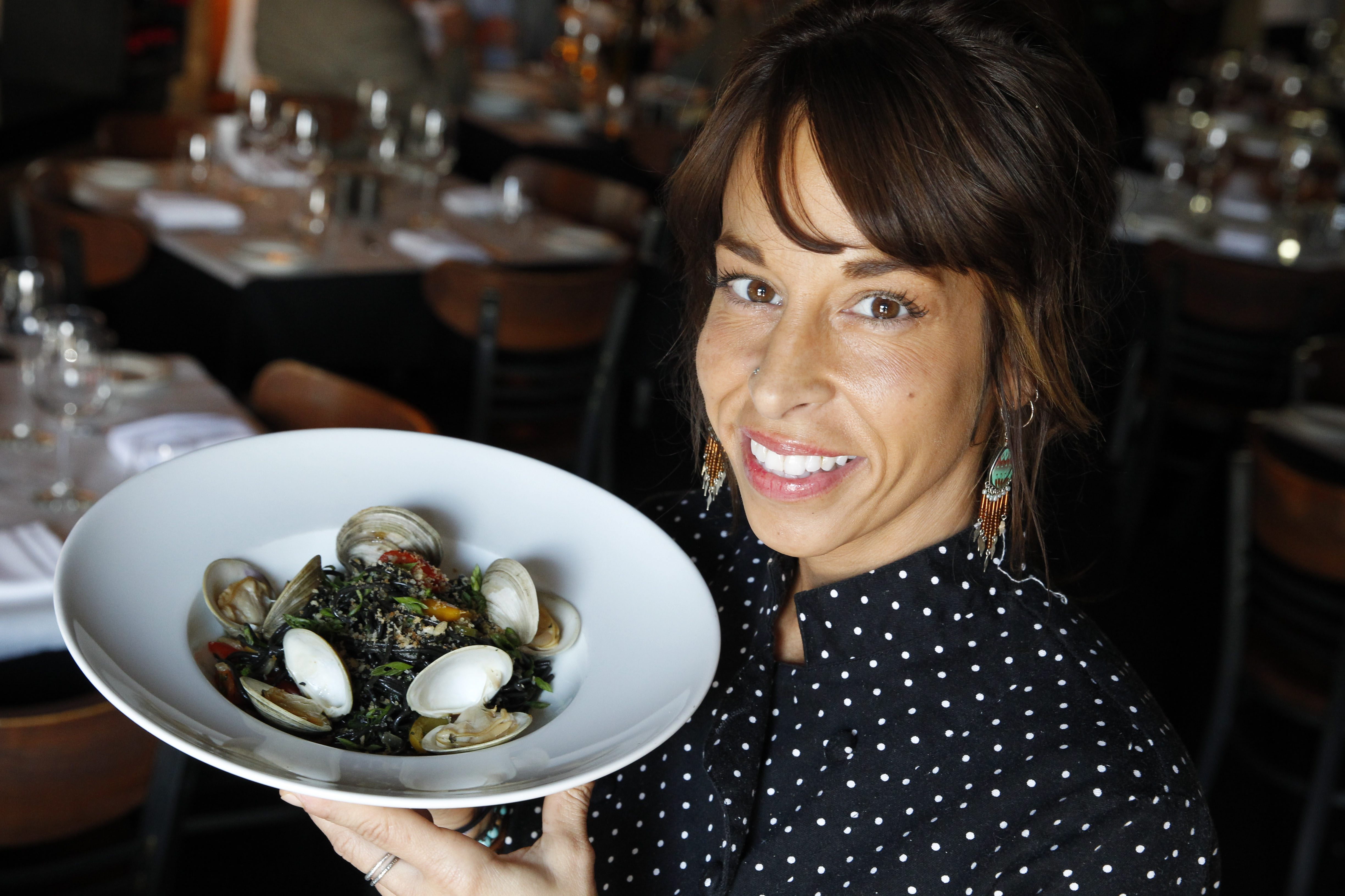 Chef Jennifer Marabella of Siena will compete in the March of Dimes fundraiser. (Sharon Cantillon/Buffalo News)
