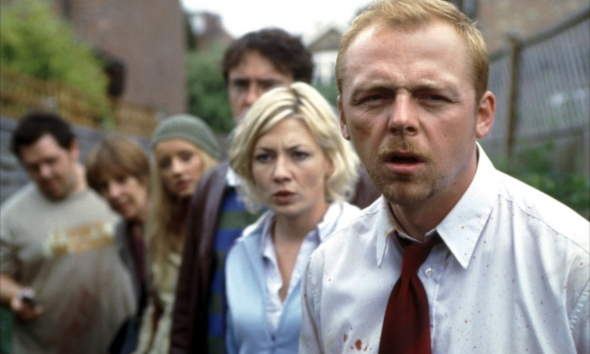 'Shaun of the Dead' is one of the movies scheduled for local theaters this week.