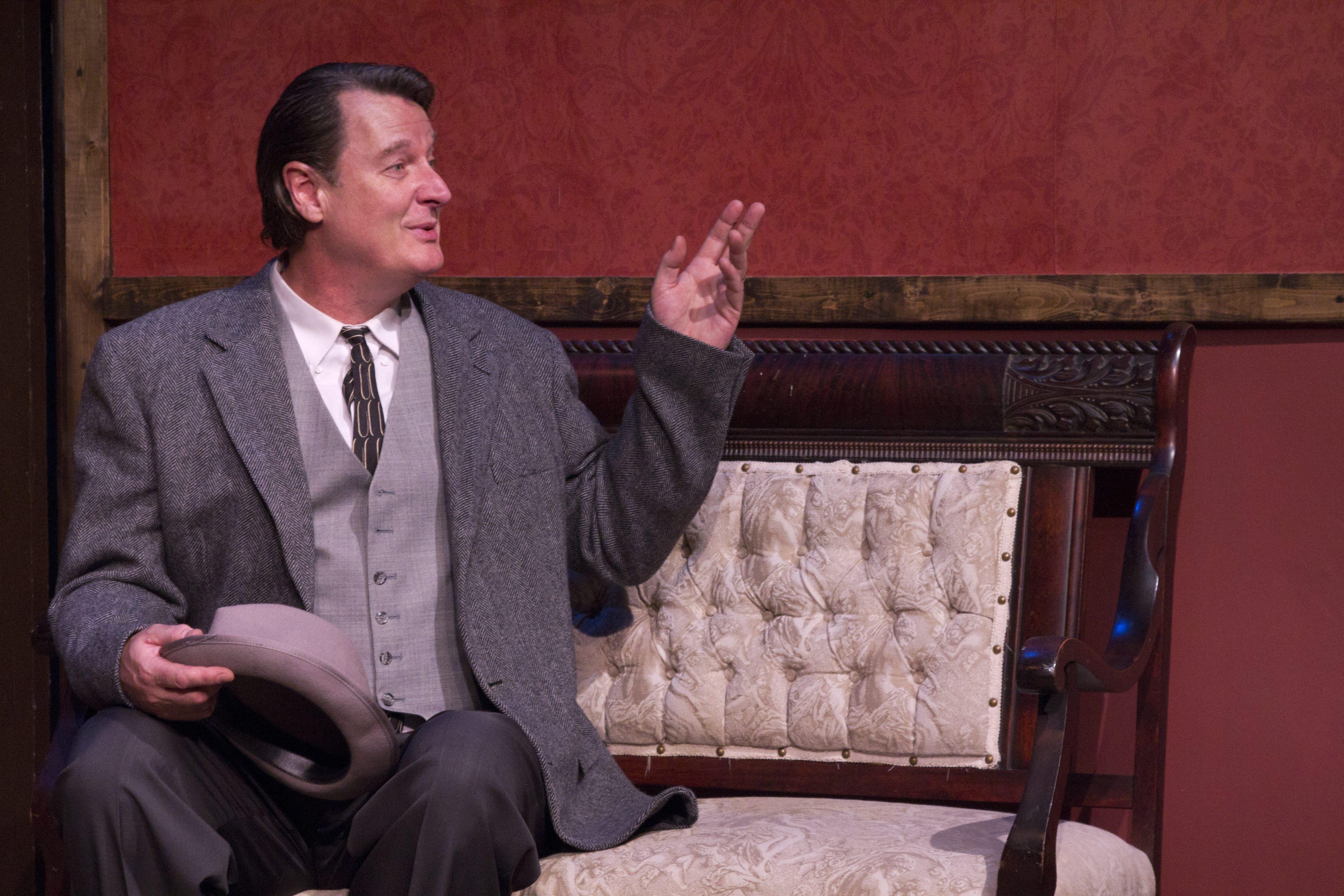 Richard Lambert stars in the New Phoenix Theatre's production of 'Harvey.'