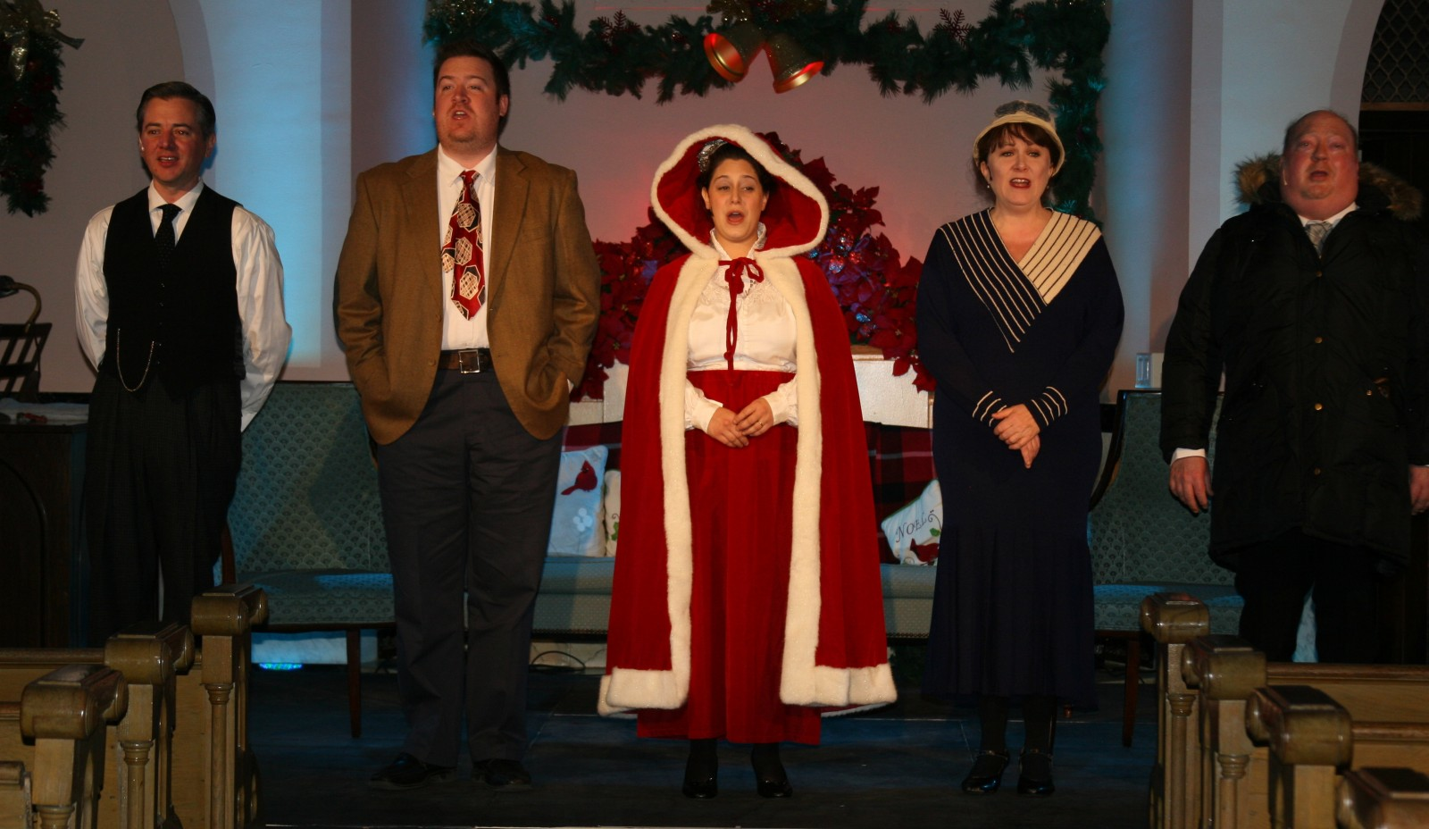 Forest Lawn's production of 'It Was a Wonderful Life,' shown here in its 2014 version, has been updated for 2015 by its new director, Loraine O'Donnell.