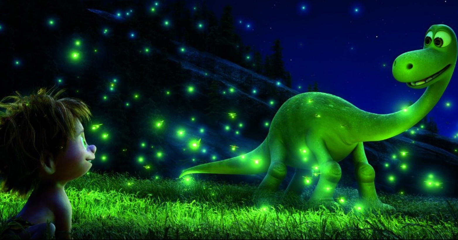 Pixar's latest, 'The Good Dinosaur,'  is often dark and violent.