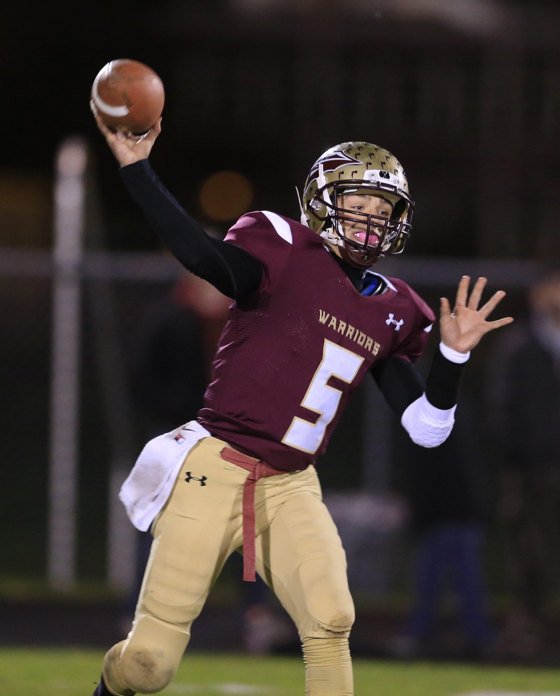 Eric Bartnik finished with five TDs to lead Cheektowaga past Springville.