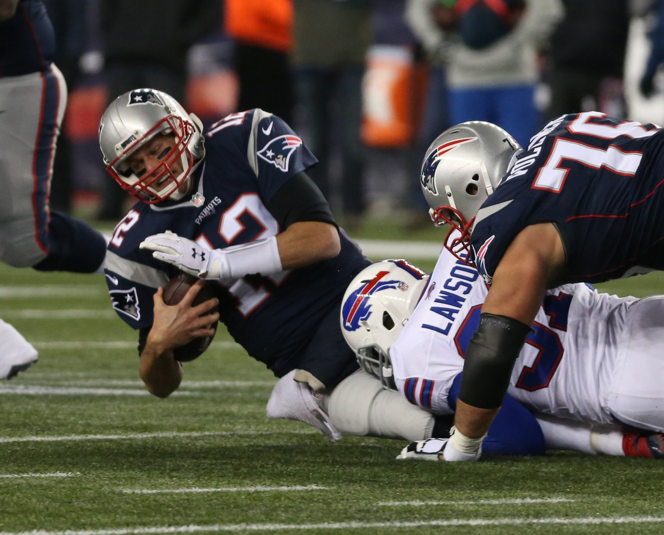 Coach Rex Ryan's defensive scheme worked well in New England on Monday night, frustrating and confusing Tom Brady.