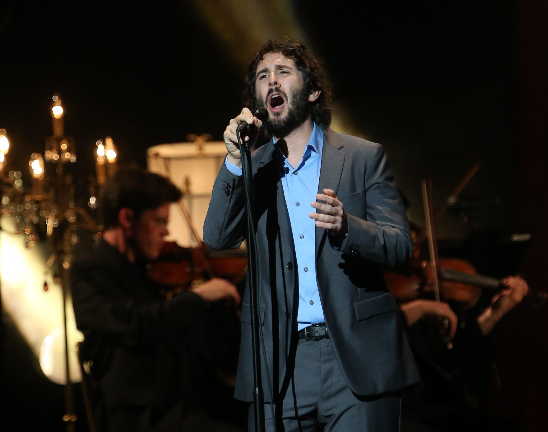 Josh Groban performed in concert at Shea's Performing Arts Center in October. (Sharon Cantillon/Buffalo News)