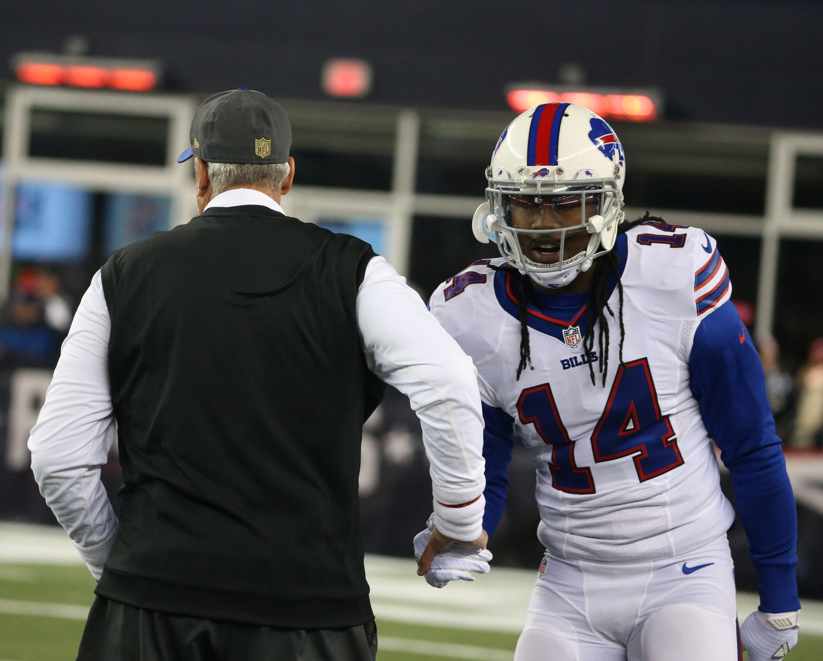 Bills coach Rex Ryan would like to see the ball thrown in the direction of wide receiver Sammy Watkins more often in the future.