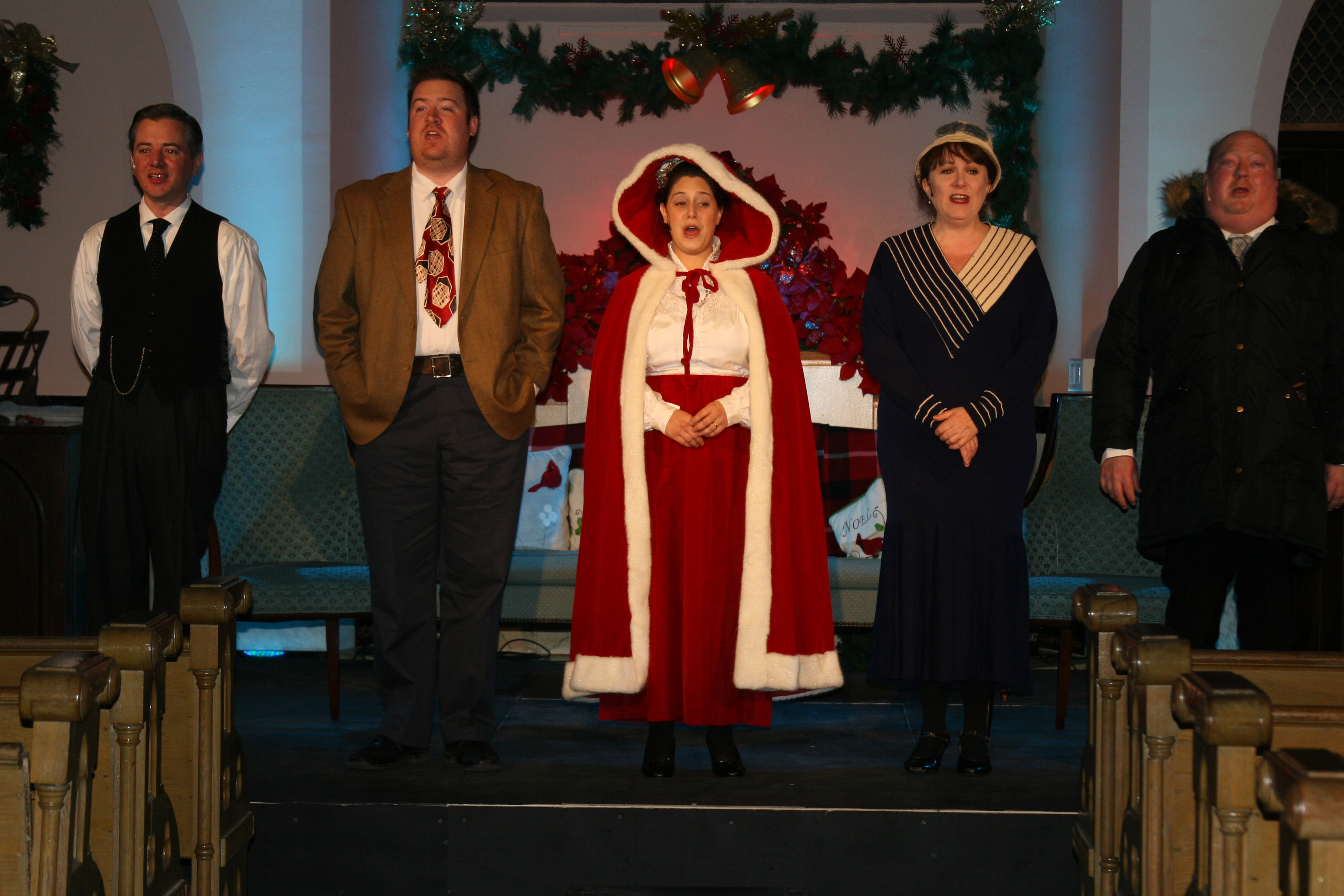 """Forest Lawn's production of """"It Was a Wonderful Life,"""" shown here in its 2014 version, has been updated for 2015 by its new director, Loraine O'Donnell."""