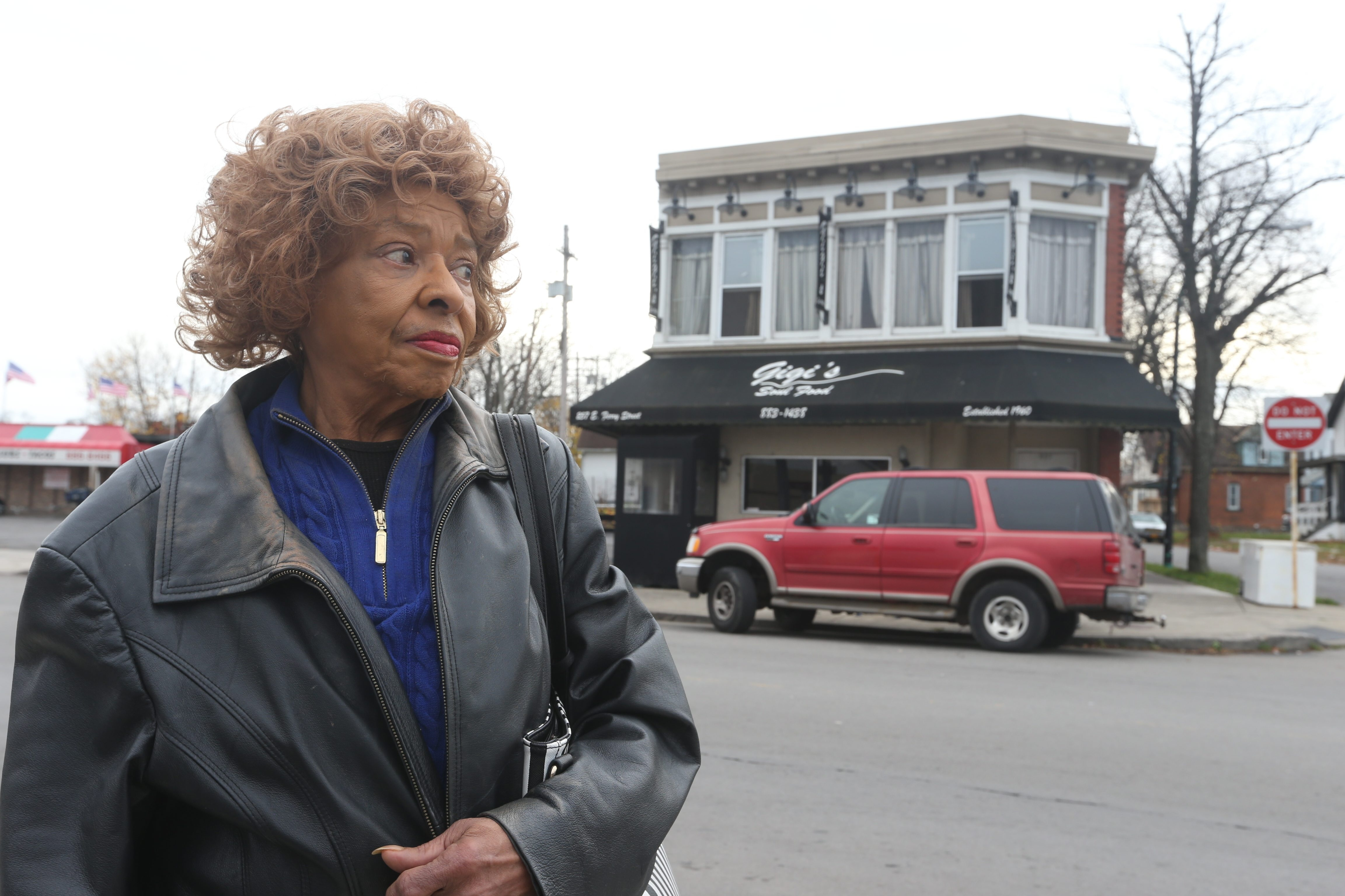 Blondine Harvin, who founded Gigi's Restaurant in 1960, says she is committed to reopening the East Side community icon after a fire Saturday caused about $150,000 in damage.