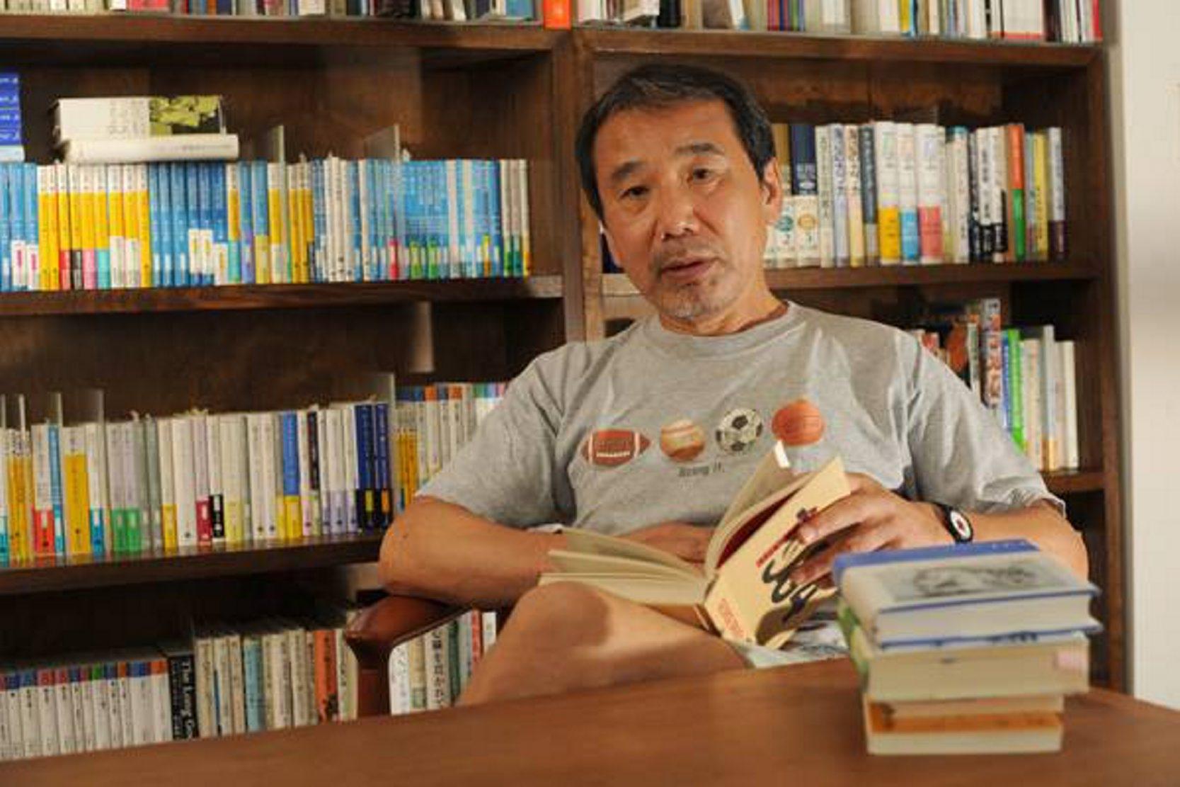 At the beginning of his career, Japanese novelist Haruki Murakami found his own language.
