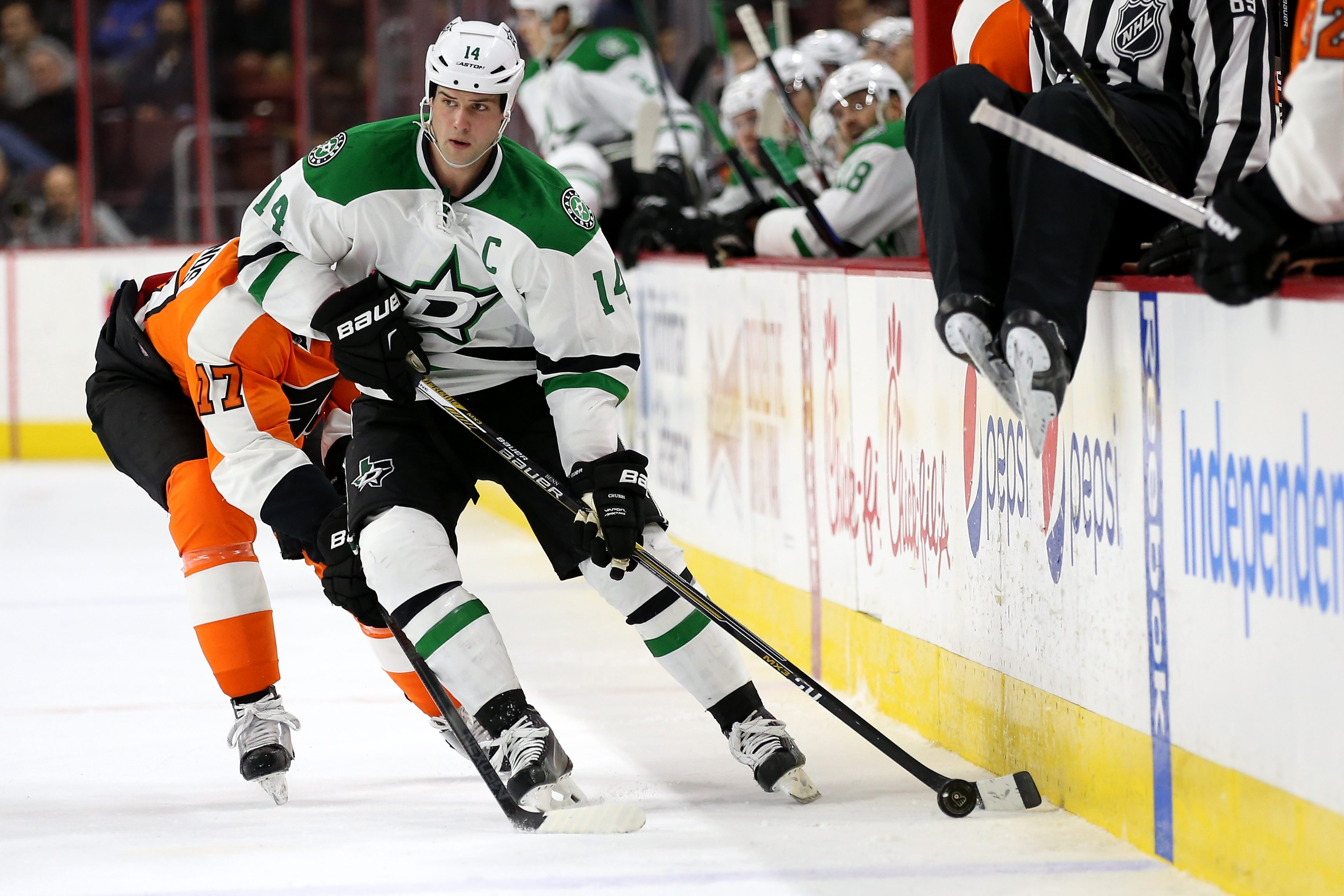 The Dallas Stars hit the jackpot when they drafted Jamie Benn, team captain and last year's NHL scoring leader, in the fifth round of the 2007 draft.