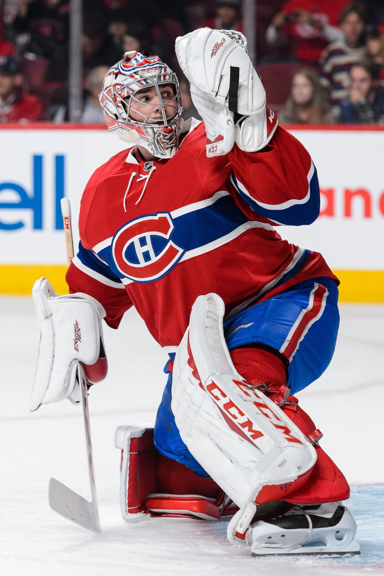 Goalie Carey Price is back in the Montreal lineup.