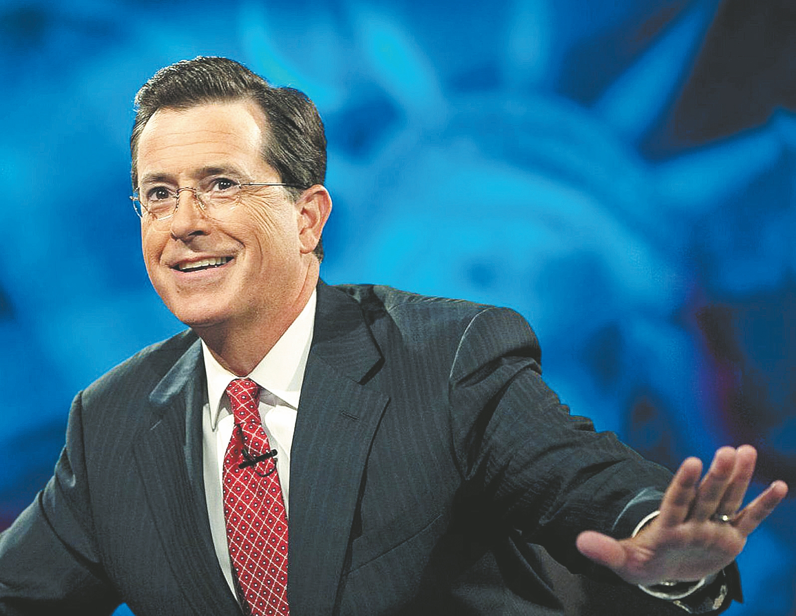 "Stephen Colbert has the hippest and smartest guest list since ""Politically Incorrect."""