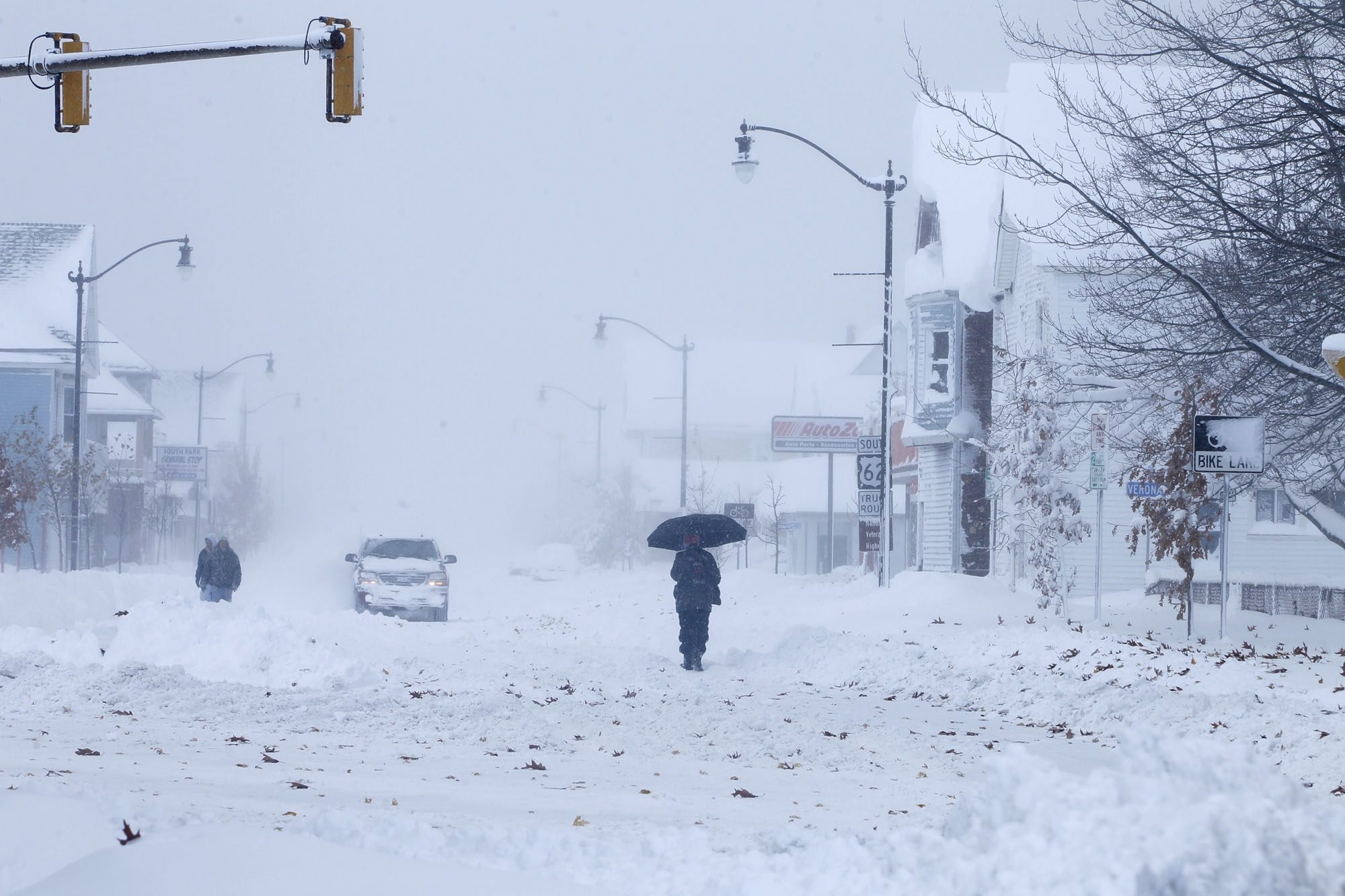 Our location on Lake Erie all but guarantees crippling lake-effect storms. (John Hickey/Buffalo News file photo)