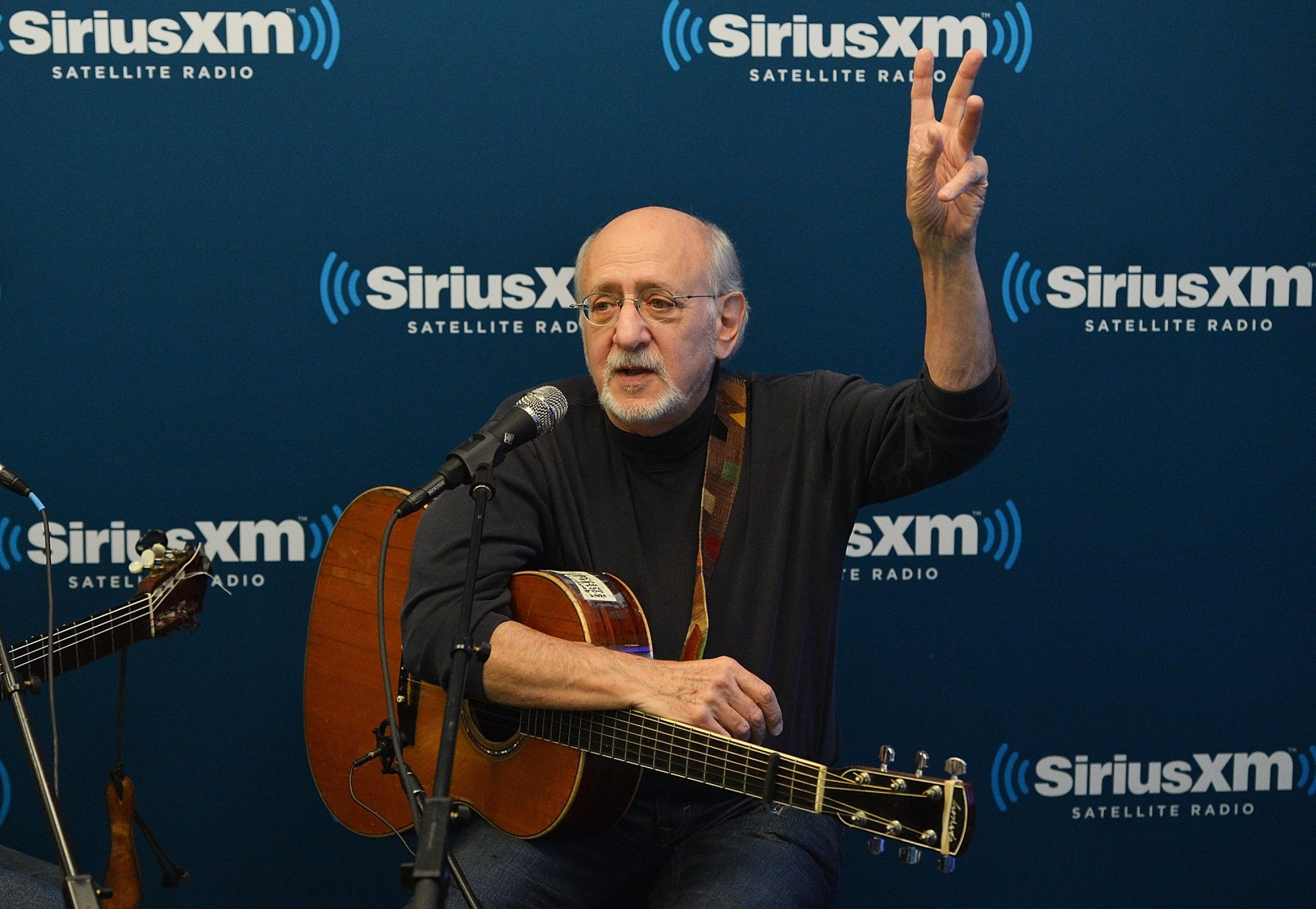 Musician Peter Yarrow will perform at Asbury Hall at Babeville on Nov. 20. (Getty Images)