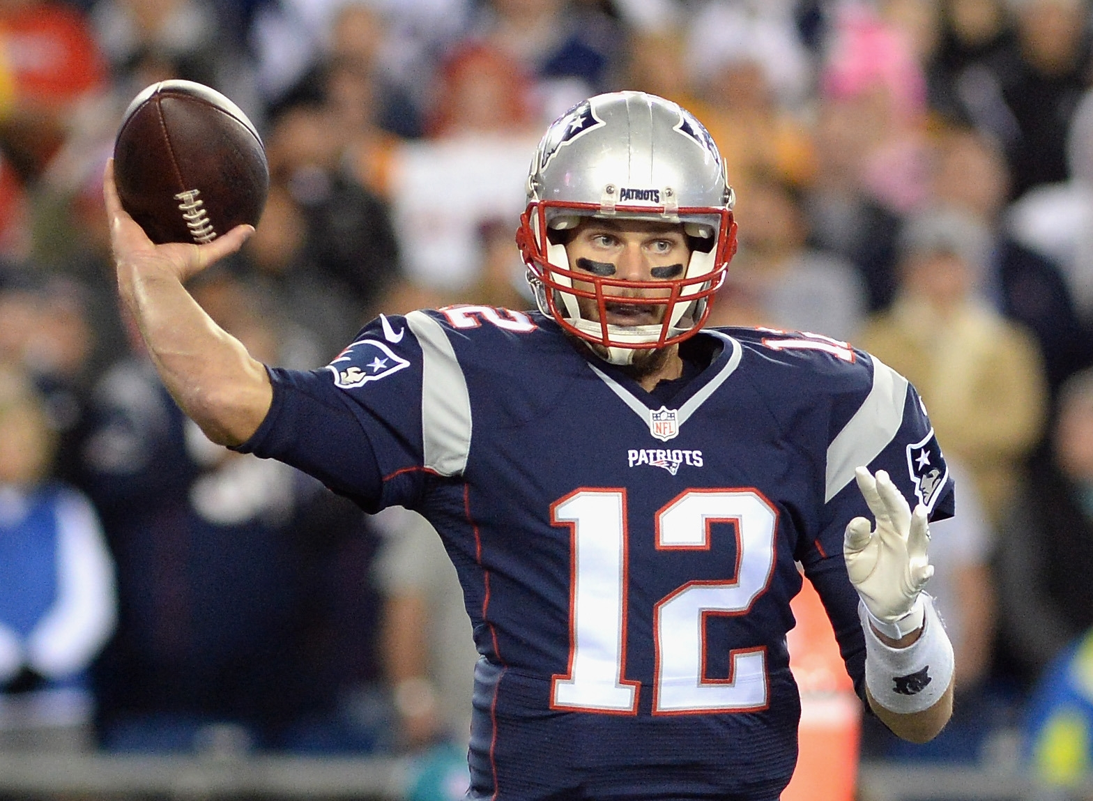 Tom Brady shows no sign of slowing down at 38, and he could play well into his 40s. (Getty Images)