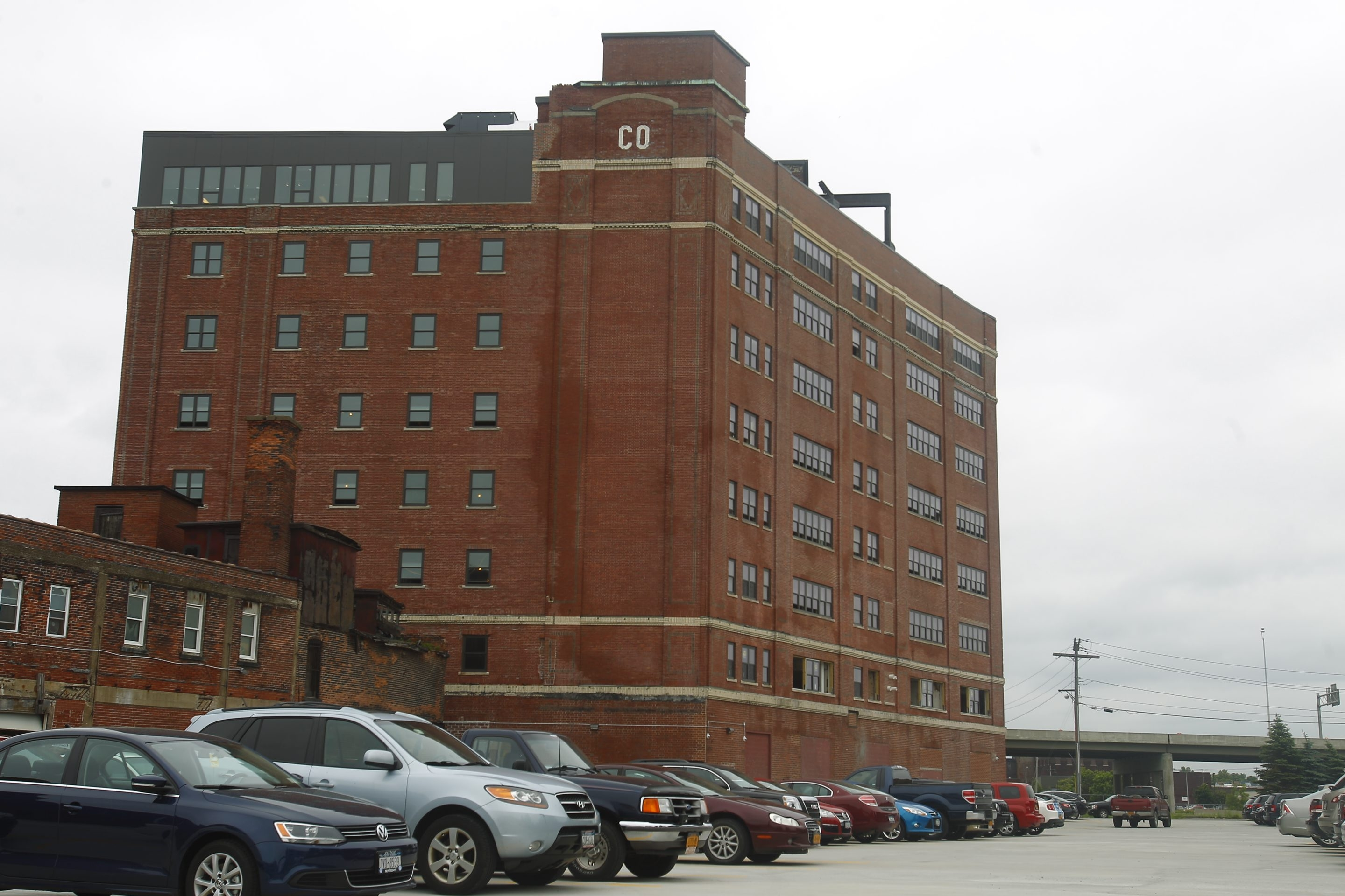 Exterior of the Fairmont Creamery, which has a new life as an apartment building. (John Hickey/Buffalo News file photo)