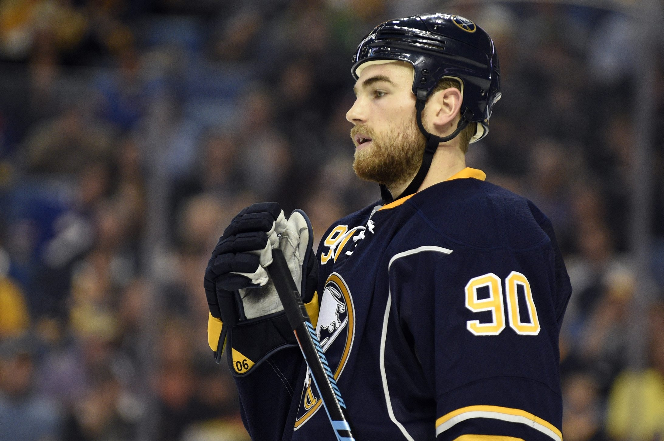 After playing major minutes in two straight games, Ryan O'Reilly got a day off.