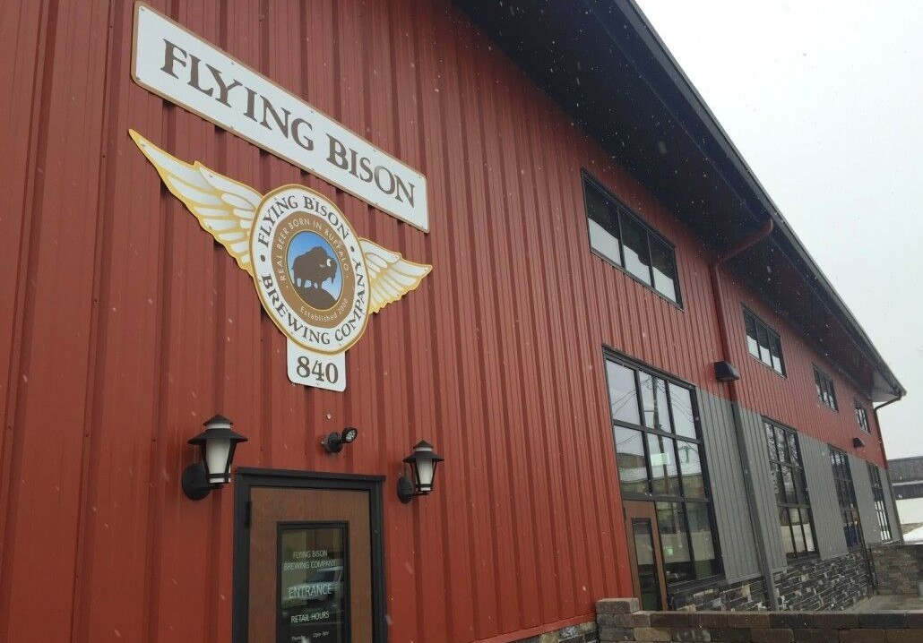 Flying Bison Brewing Company in Larkinville.