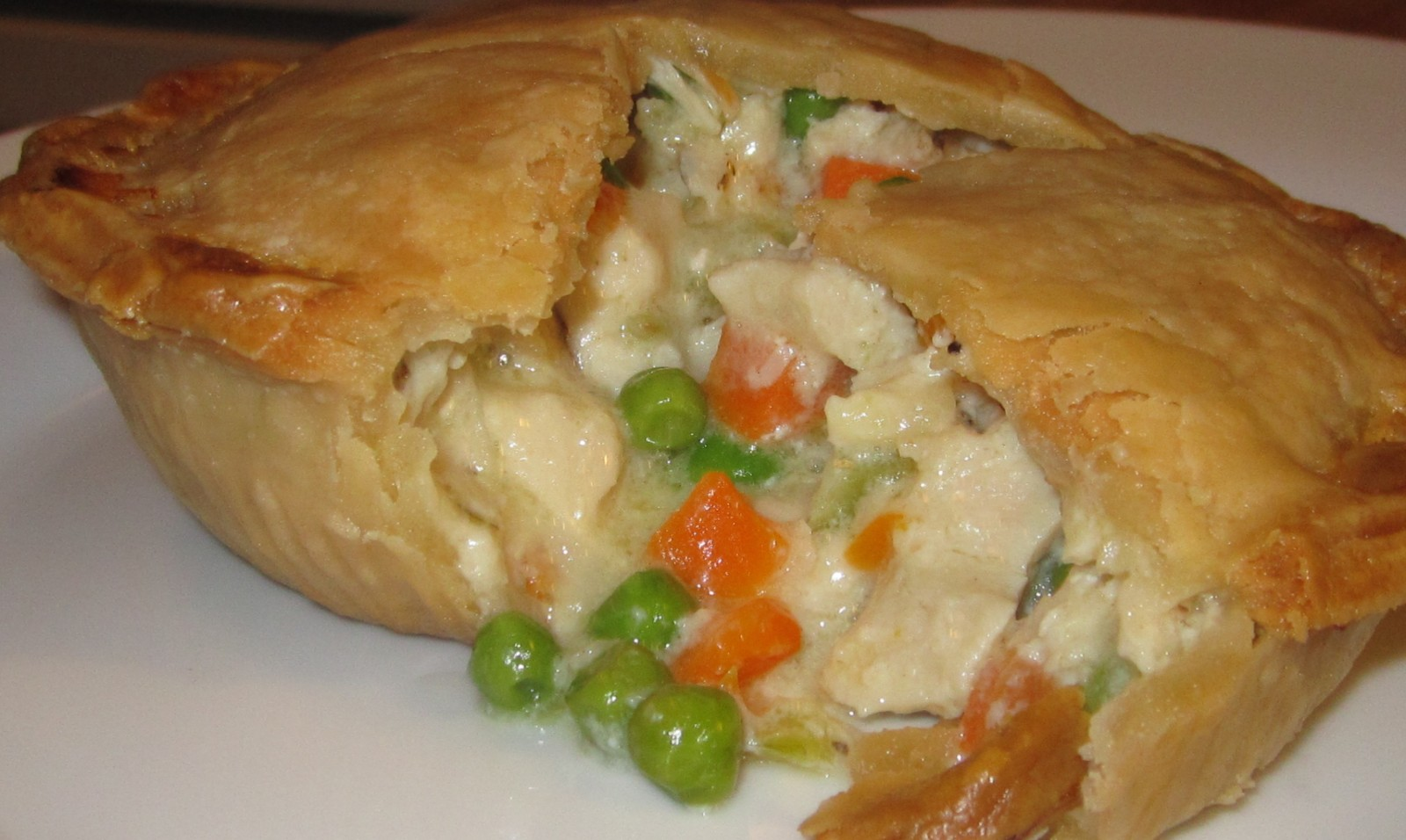 The chicken pot pie from McDuffies Bakery. (Emeri Krawczyk/Special to The News)