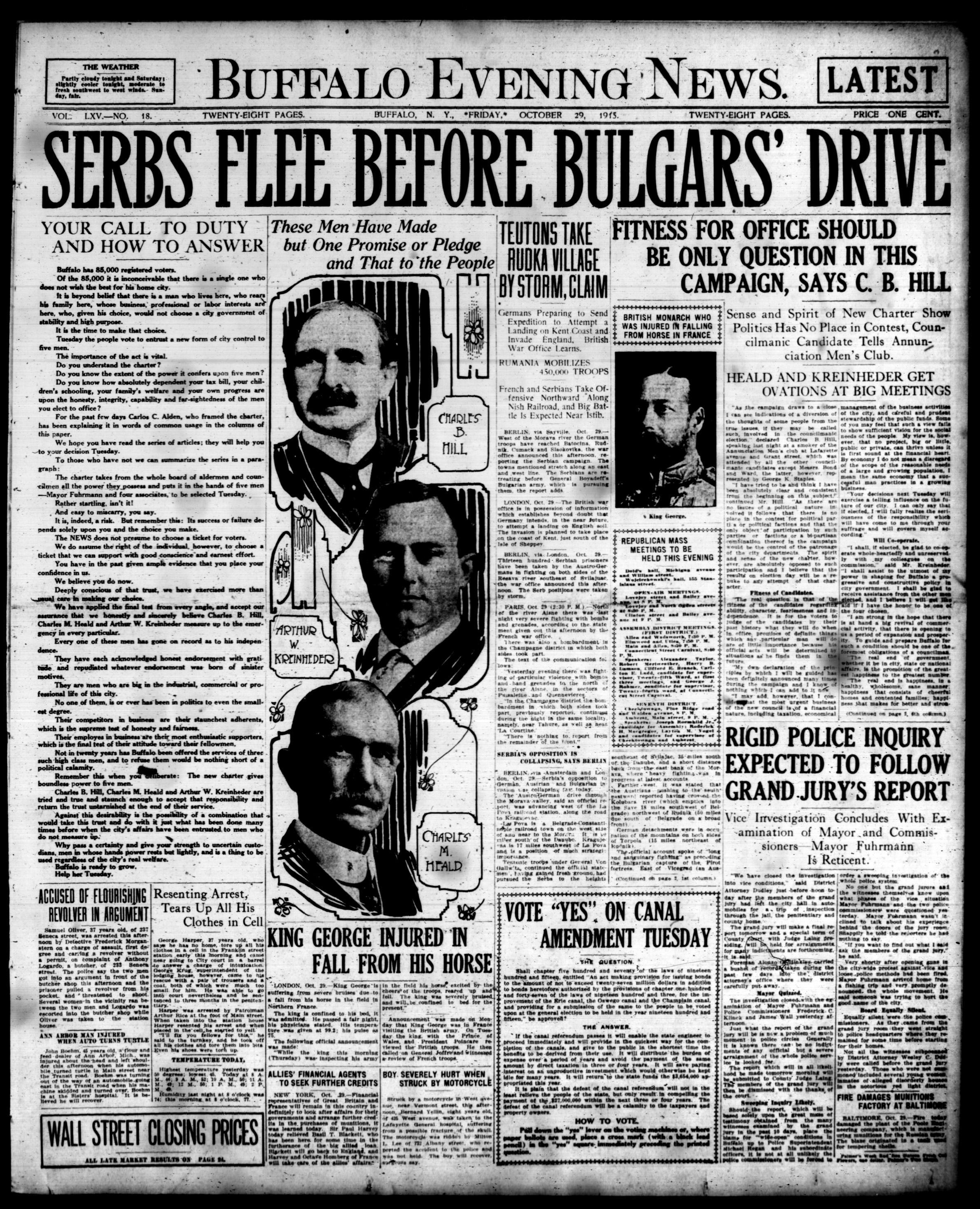 Oct 29 1915