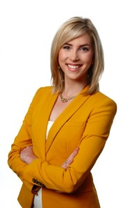 Ashley Rowe: CTV reporter and anchor headed for Channel 7. (photo credit CTV)