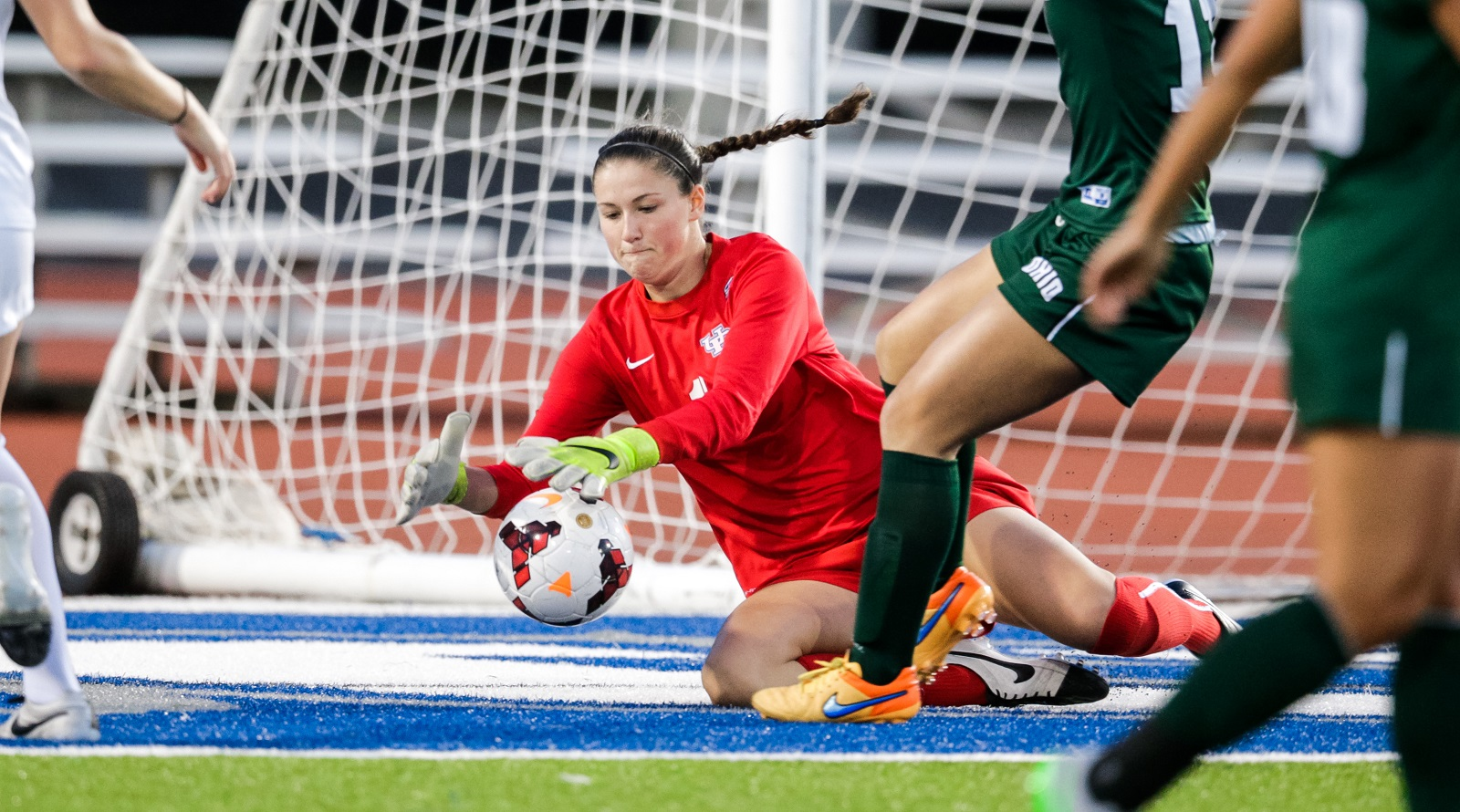University at Buffalo goalkeeper Laura Dougall has been invited to training camp for the Trinidad & Tobago National Team. (UB Athletics)