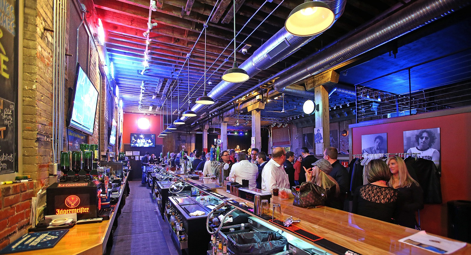A view of the bar in Buffalo Iron Works when it opened in 2013. The Cobblestone District bar hosts one of this week's Beer Matters events. (Robert Kirkham/Buffalo News file photo)