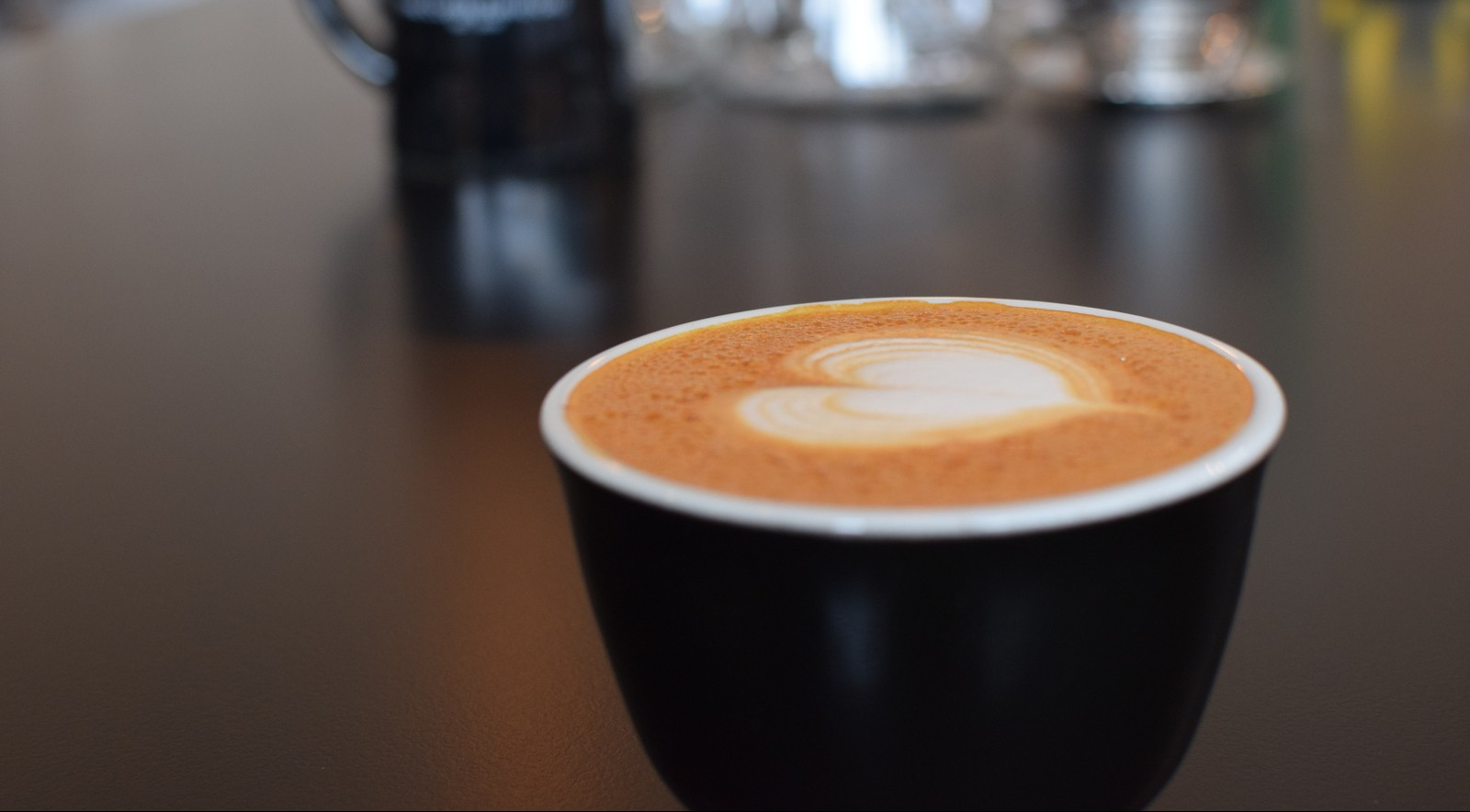 Coffee shops like Tipico are a good choice for a  first date. (Kevin Purdy/Special to the News)