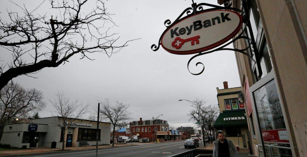 As long as federal regulators approve the deal, the merger of First Niagara and Key Bank will create an upstate powerhouse. (Derek Gee/Buffalo News)