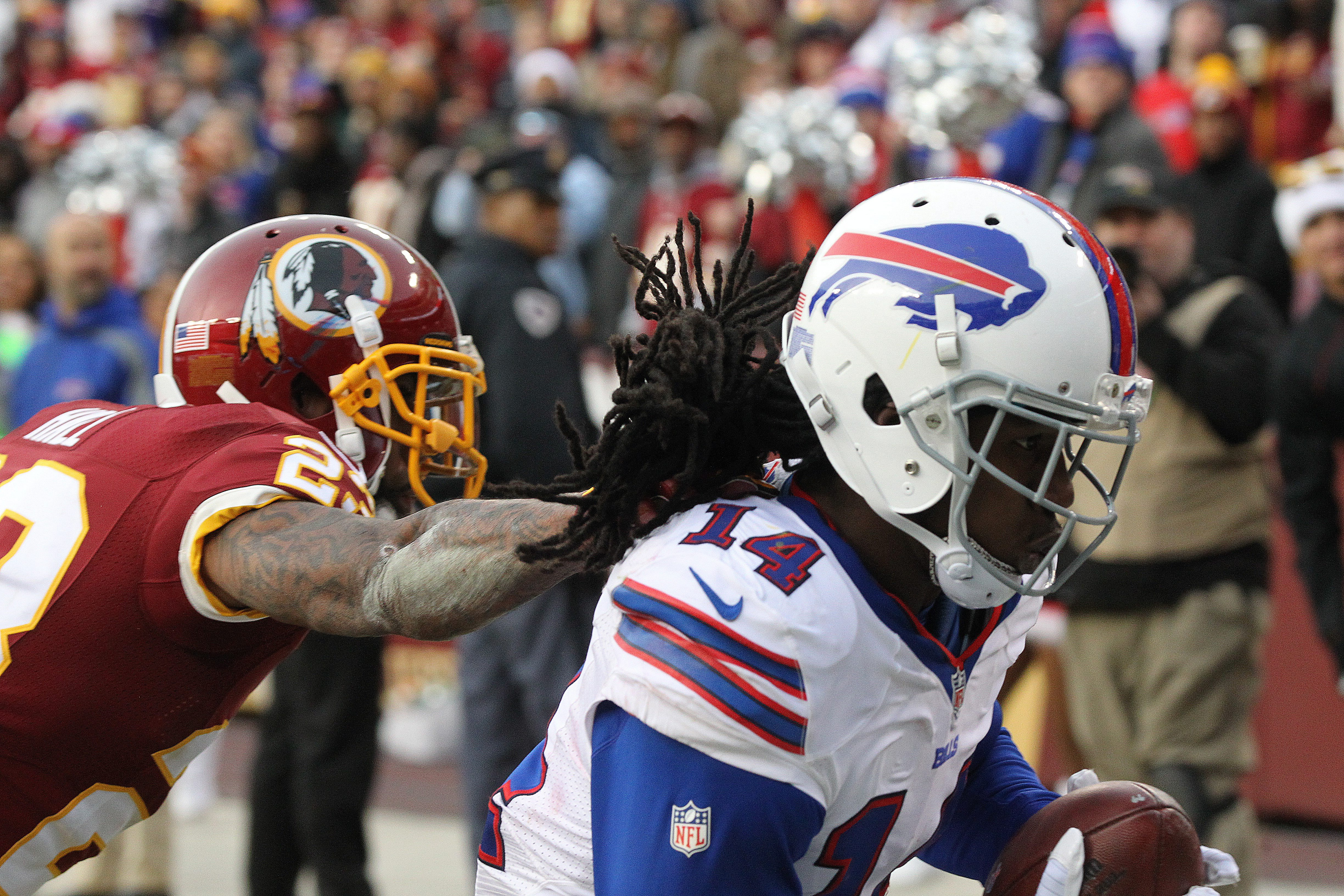 Sammy Watkins stood out for the Bills, on and off the field. (James P. McCoy/ Buffalo News)
