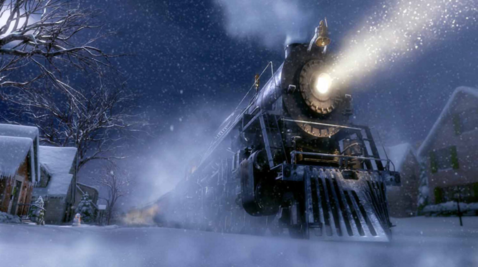"""Youngsters who love the movie """"The Polar Express"""" would enjoy the Polar Express Train Ride at the Medina Railroad."""