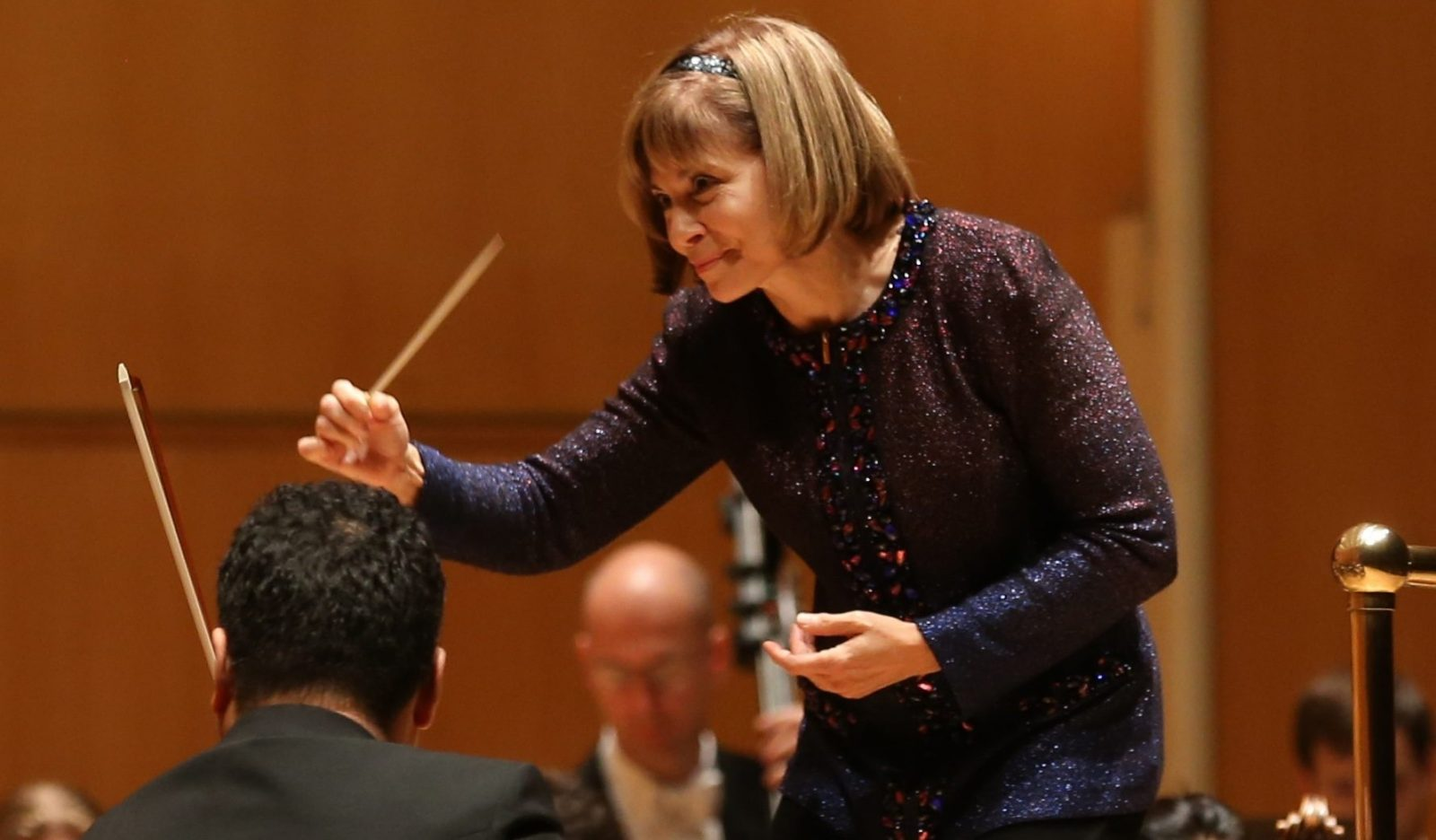 JoAnn Falletta, music director of the BPO since 1999. (Sharon Cantillon/Buffalo News file photo)
